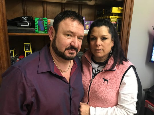 Scott and Gina Ritter, owners of Vapesboro on Middle Tennessee Boulevard in Murfreesboro, were among those arrested as part of 'Operation Candy Crush' in 2018. Investigators accused store owners of illegally selling CBD products, but charges in the case were later dropped.
