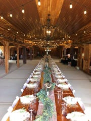 Copper Ridge Event Venue, 3597 Betty Ford Road in Murfreesboro, is a full-service event venue built out of natural cedar and copper with space for up to 250 guests.
