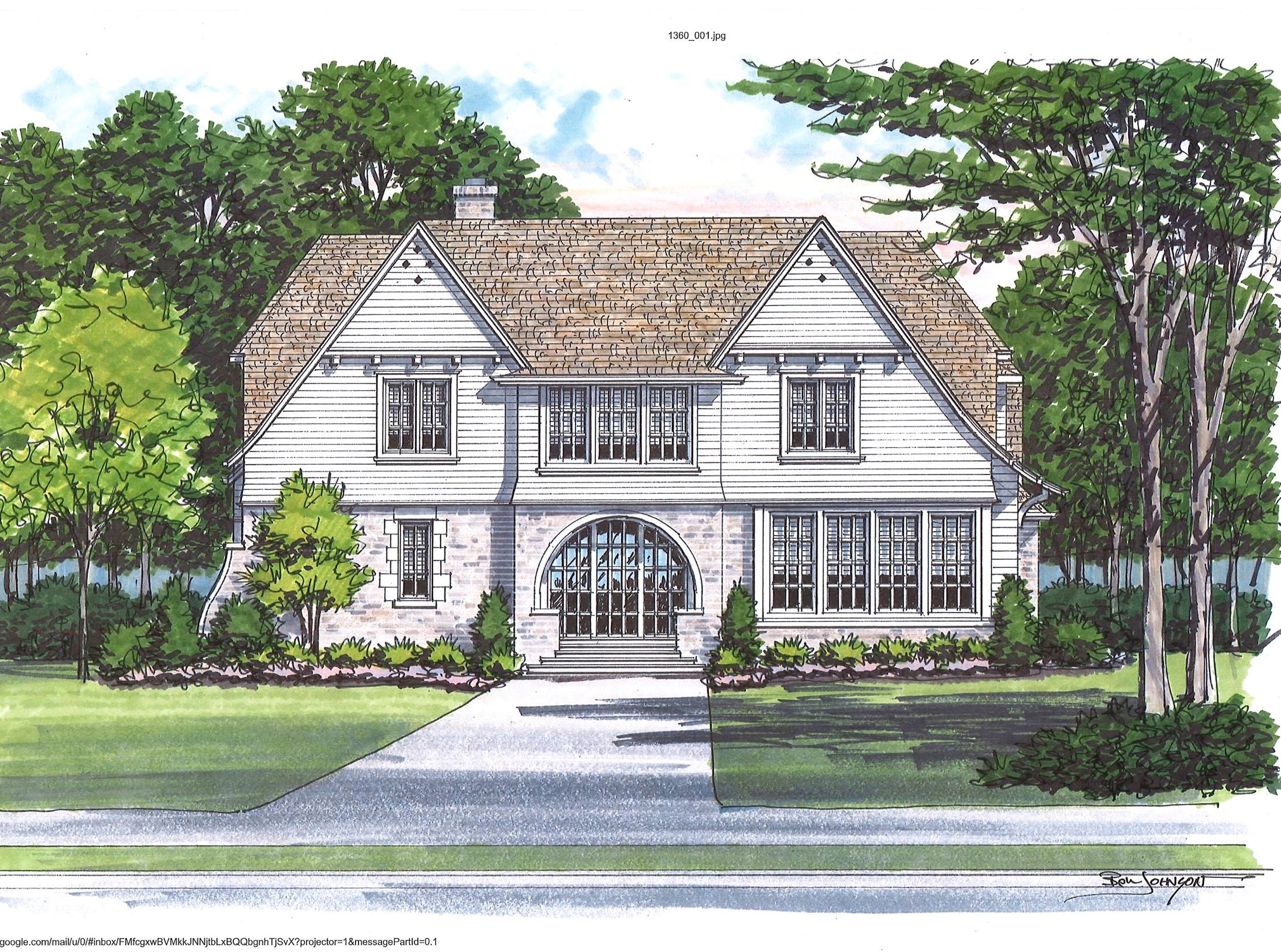 The almost 6,000 square foot home, will be in the English Arts and Crafts style and sit on a pretty ¾ acre home site and is being built in the Belle Meade area of Nashville. This will be a design-build project for Castle Homes who collaborated with architect Kevin Coffey, C. Kevin Coffey Dwellings and Design. The team was inspired by early 20th century architect C. F. A. Voysey, who embraced the simplicity of the Arts and Crafts movement.  The home will be open for tour in October and featured in House Beautiful magazine in November.