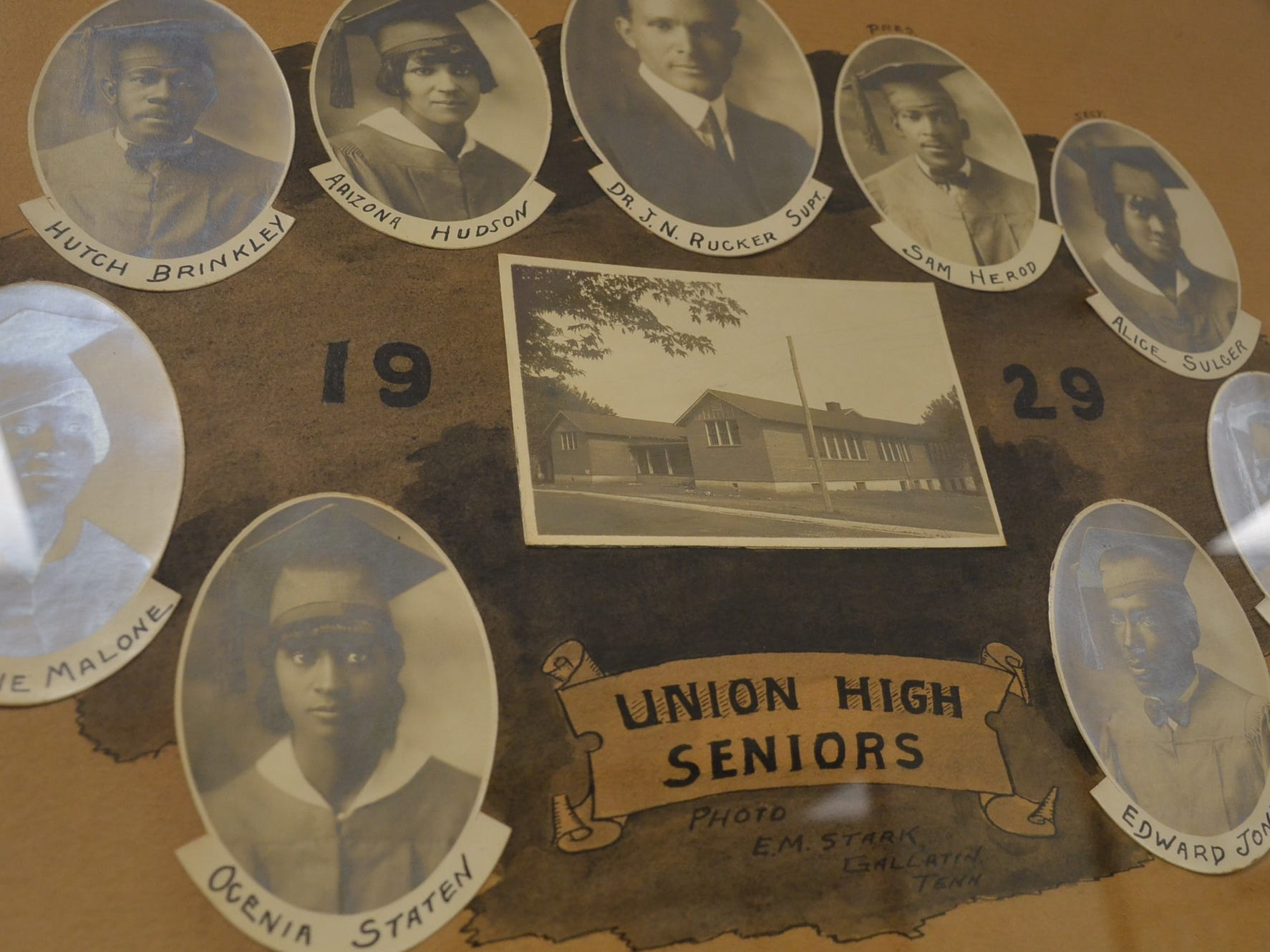 This was the senior class of 1929 at Union High School in Gallatin.