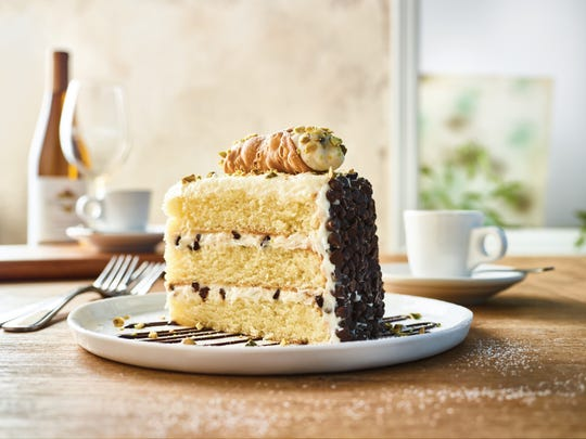 Carrabba's Italian Grill will offer a four-course dinner for two, with dessert options such as a cannoli cake.