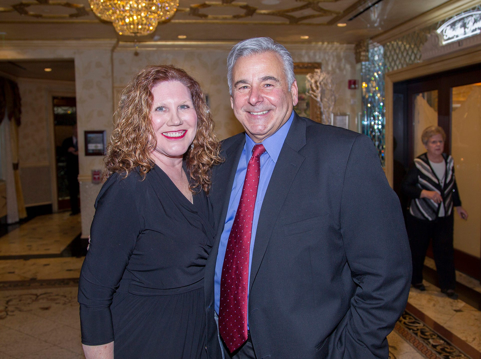 Beth Malin, Frank Lento. Institute for Educational Achievement (IEA) held its annual Dinner Dance at Seasons in Washington Township. 02/02/2019