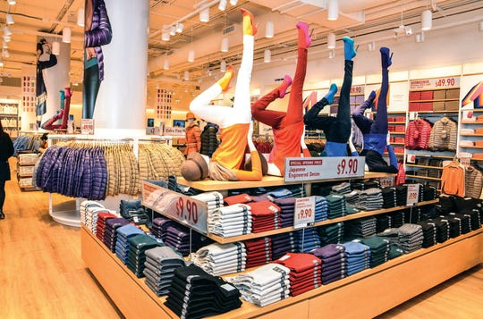 FILE photo of a Uniqlo store.
