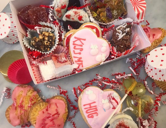 Erie Coffeeshop and Bakery's hand-made treats for Valentine's Day