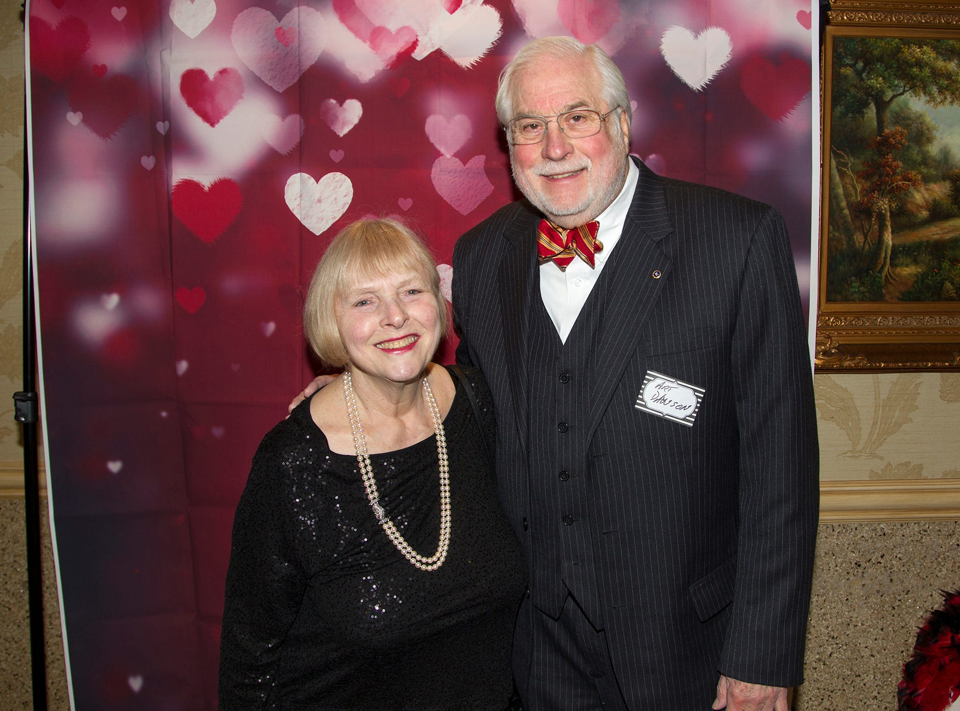 Pam and Art Dawson.Institute for Educational Achievement (IEA) held its annual Dinner Dance at Seasons in Washington Township. 02/02/2019