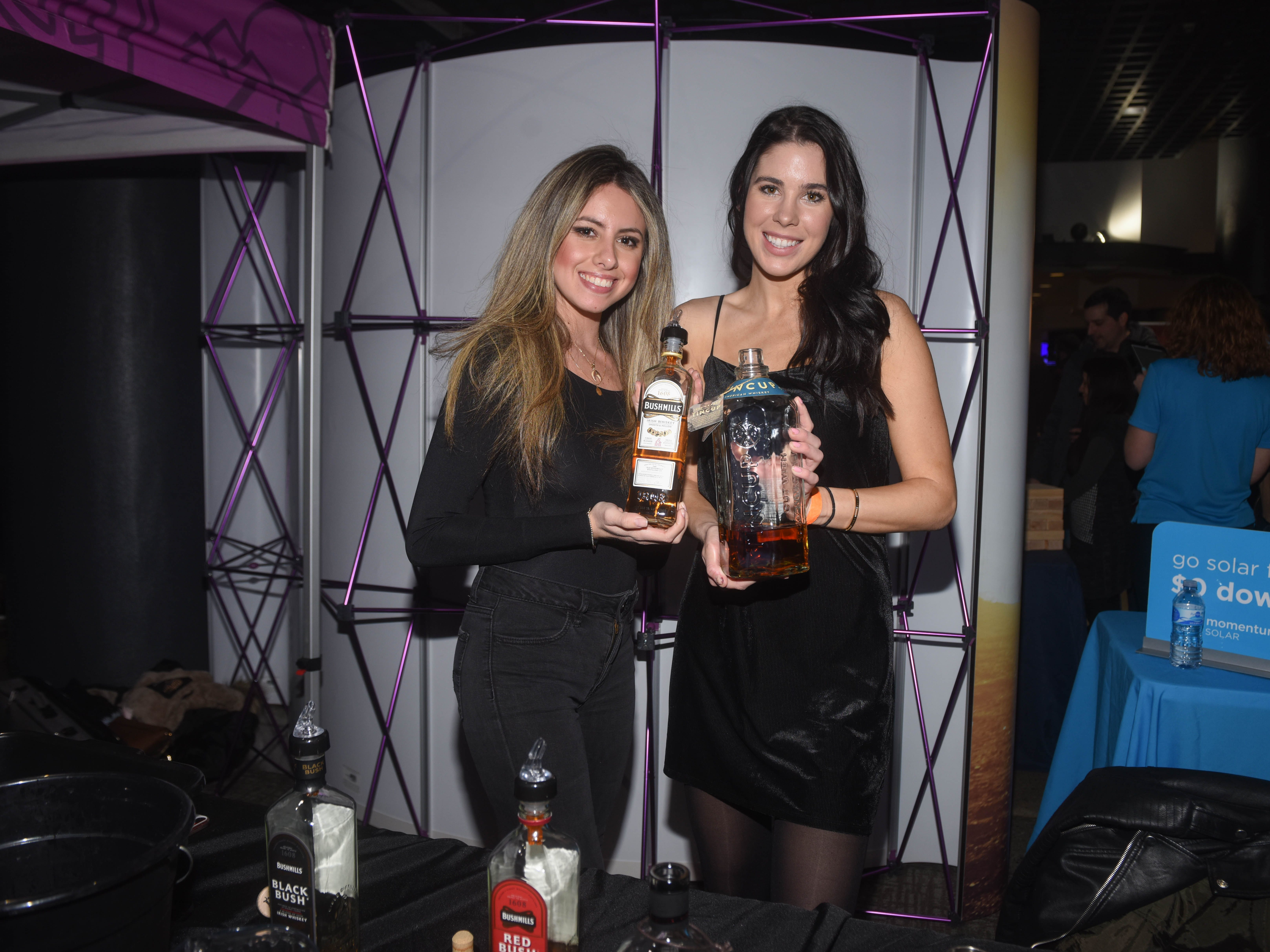 Jersey City Whiskey Fest was held at Harborside Atrium. The event featured over 100 styles of whiskey and spirits. 02/01/2019