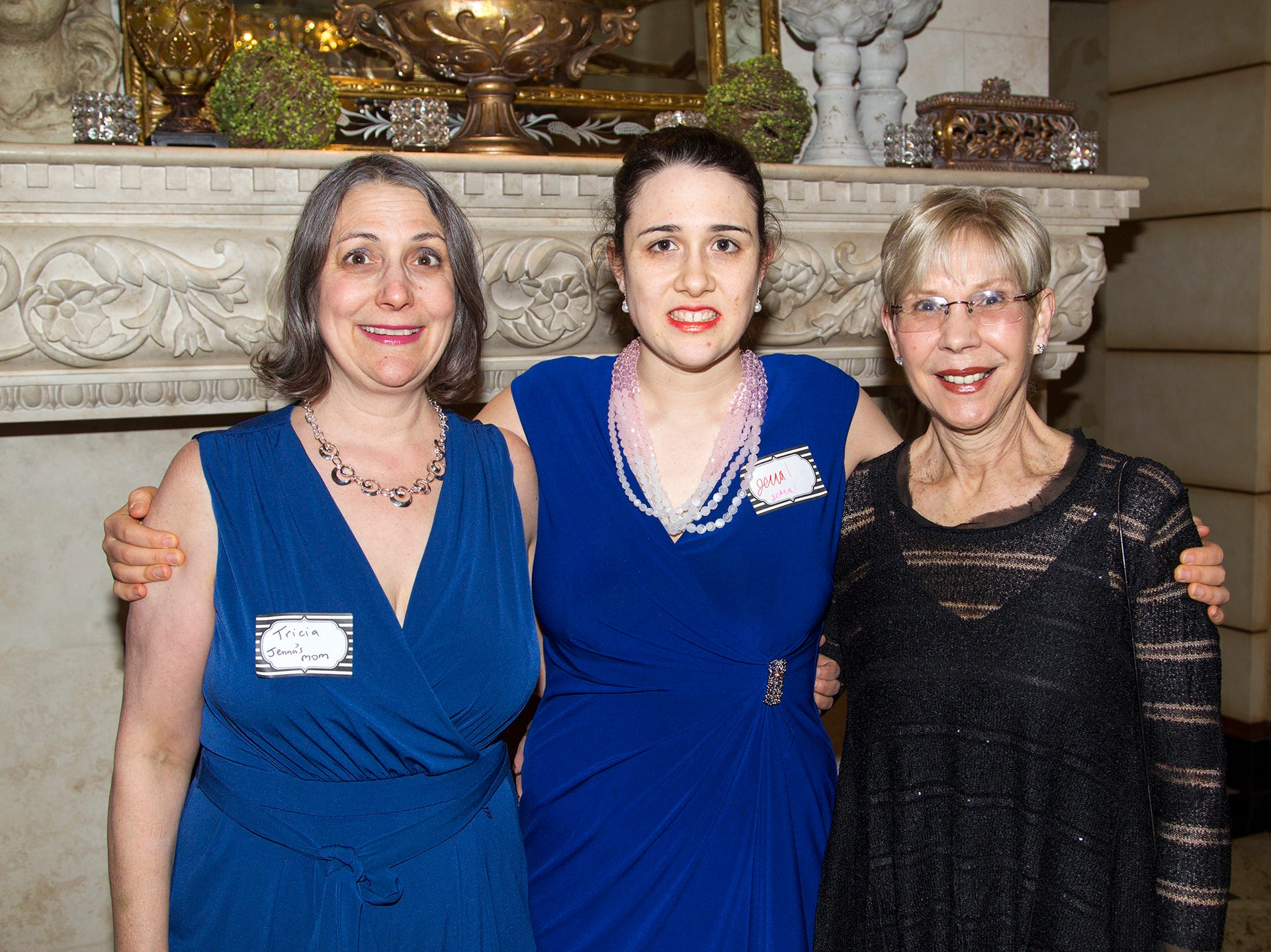 Tricia McKeegan, Jenna McKeegan, Joanne Dowling. Institute for Educational Achievement (IEA) held its annual Dinner Dance at Seasons in Washington Township. 02/02/2019