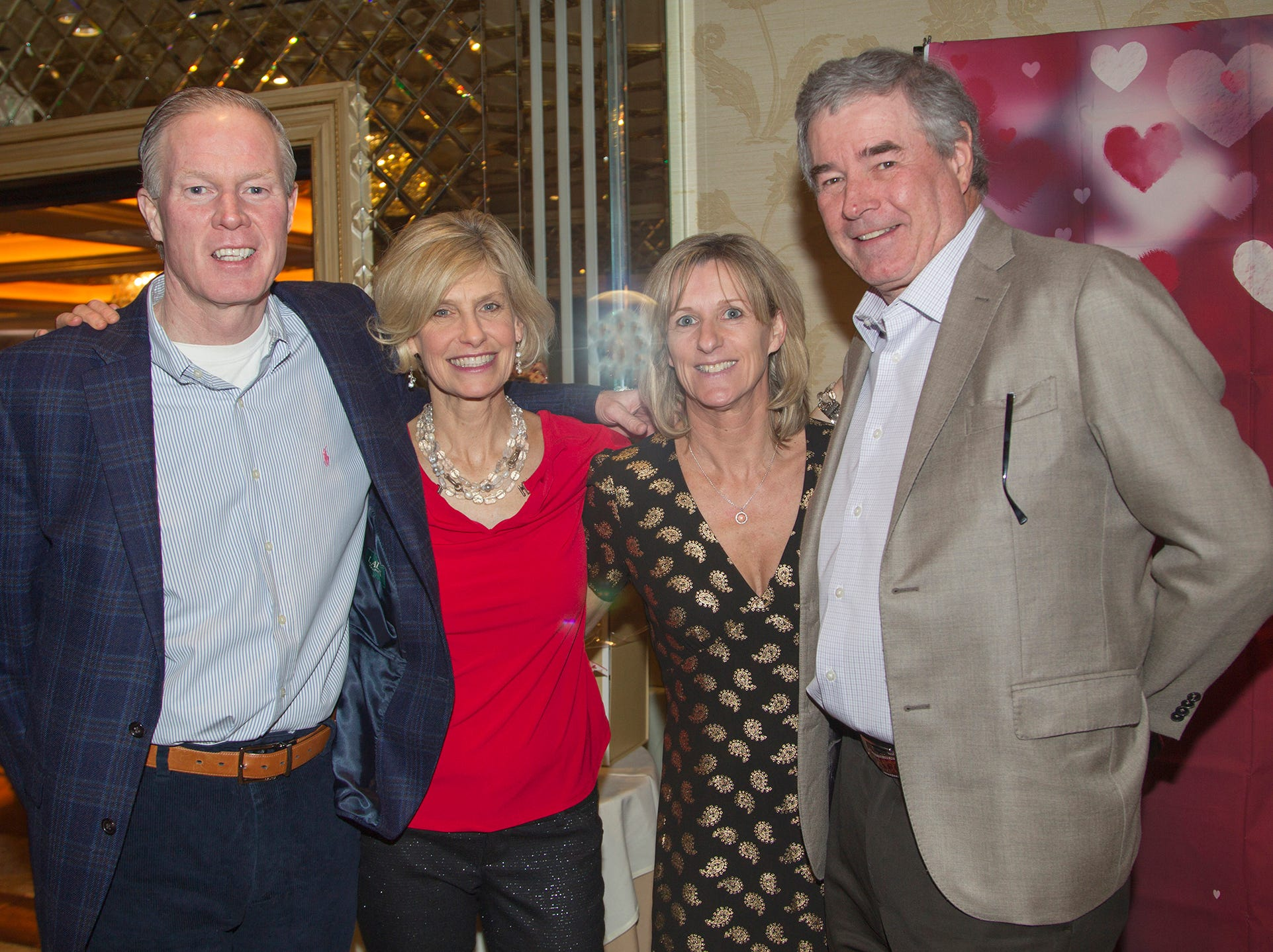 Tom Kelly, Kathy Kelly, Sarah Cunningham, Sean Cunningham. Institute for Educational Achievement (IEA) held its annual Dinner Dance at Seasons in Washington Township. 02/02/2019