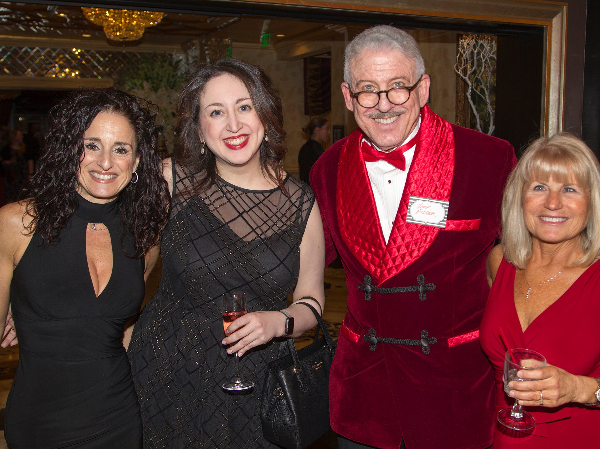 Alison Sharkey, Kate Fisher, Dr.Jeff Fisher, Diane Lento. Institute for Educational Achievement (IEA) held its annual Dinner Dance at Seasons in Washington Township. 02/02/2019