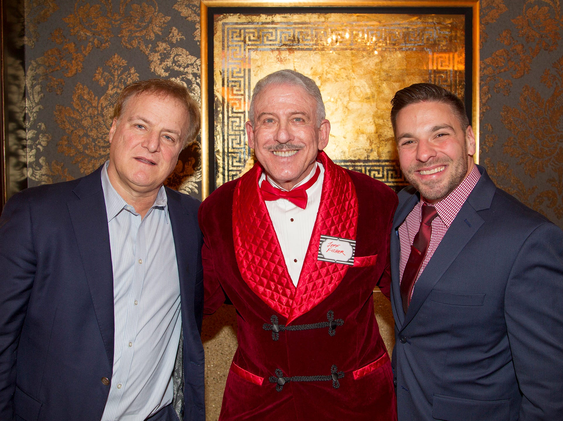 Tony Censoloo, Dr. Jeff Fisher, Dr. Rozenblatt. Institute for Educational Achievement (IEA) held its annual Dinner Dance at Seasons in Washington Township. 02/02/2019