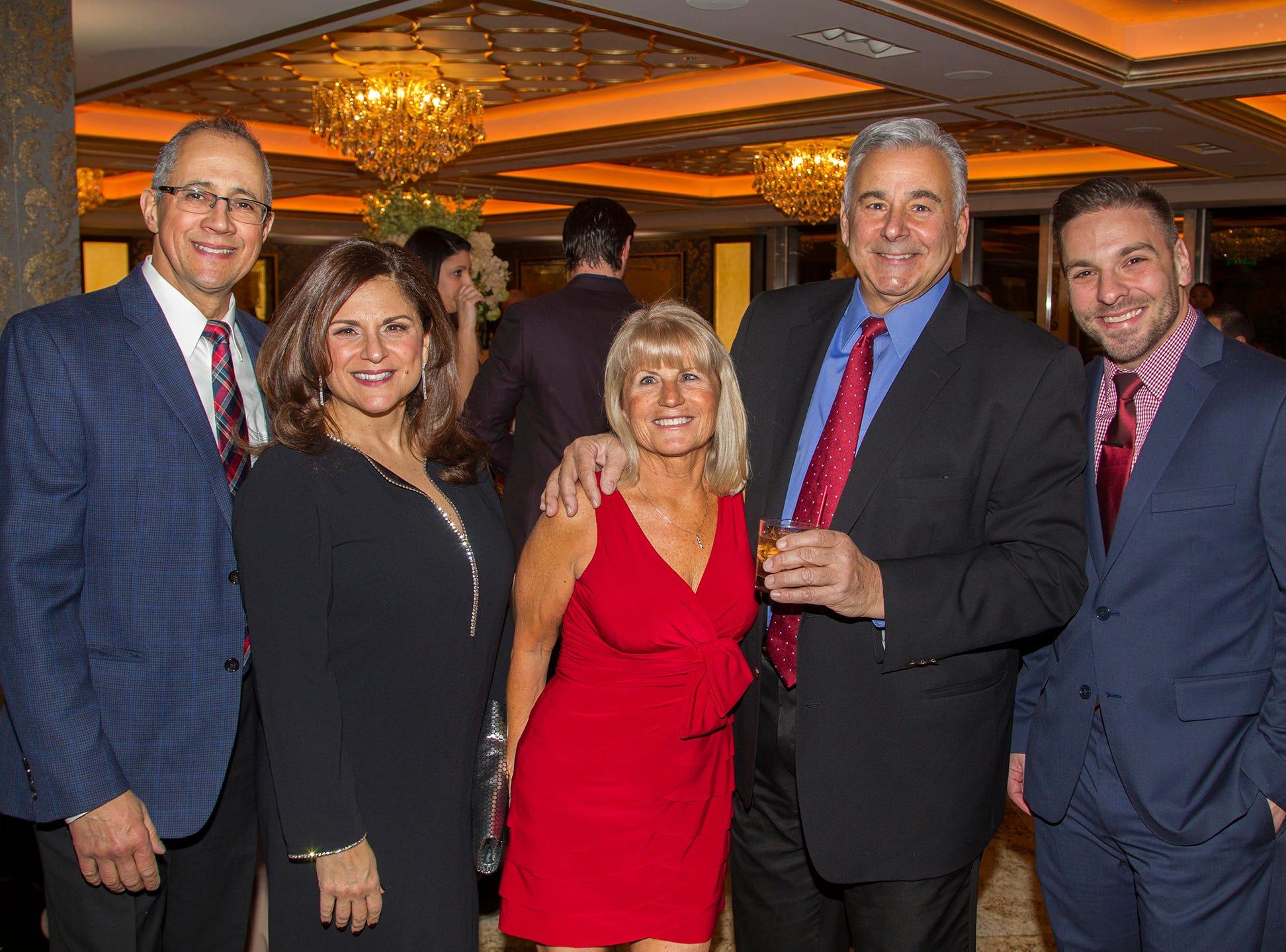 Julio Periera, Annmarie Pereira, Diane Lento, Frank Lenta, Dr .Eric Rozenblat. Institute for Educational Achievement (IEA) held its annual Dinner Dance at Seasons in Washington Township. 02/02/2019