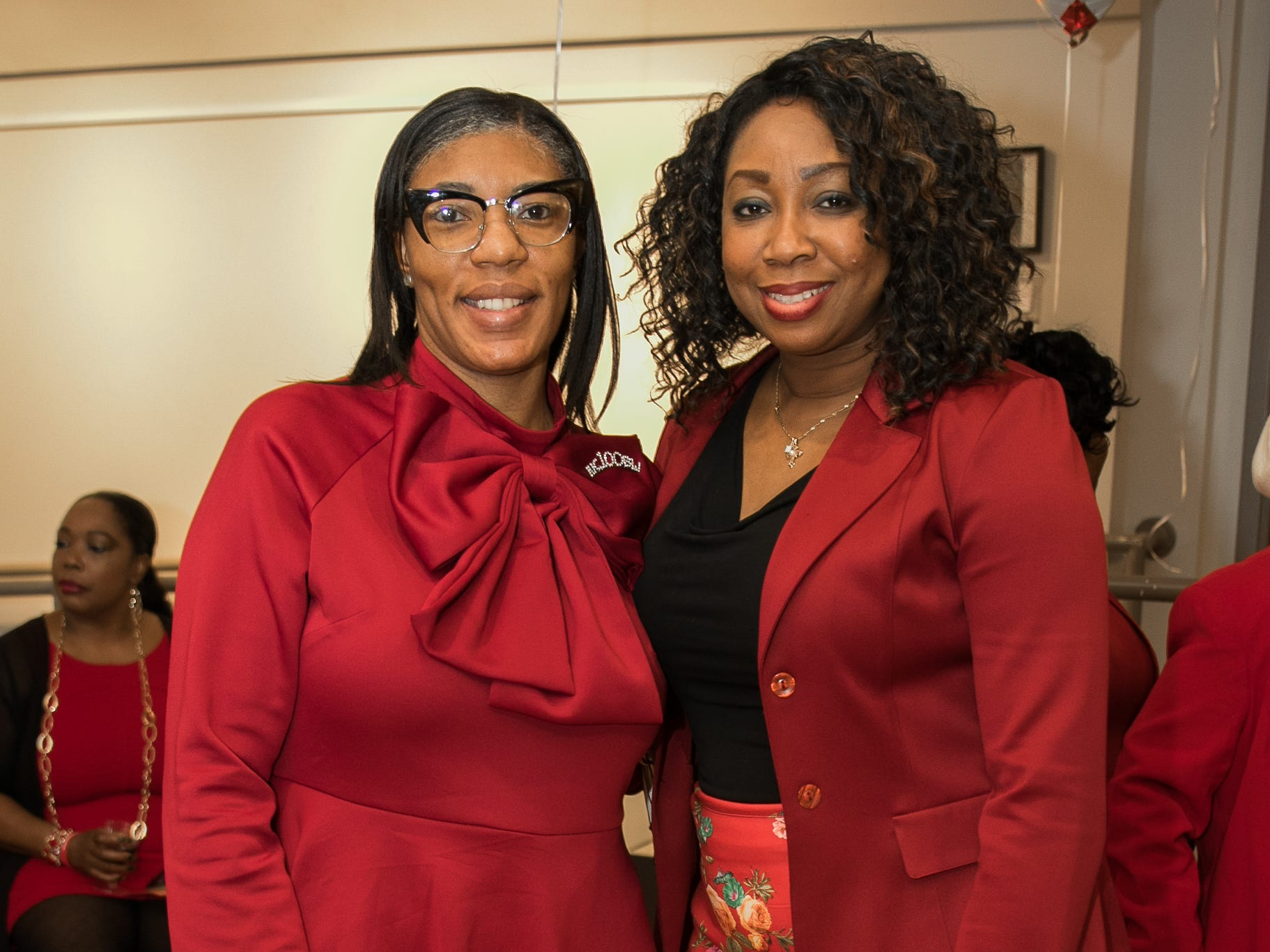 The National Coalition of Black Women of Bergen and Passaic Counties held its annual Heart Healthy Go Red Event at The Hackensack Performing Arts Theater. 02/01/2019