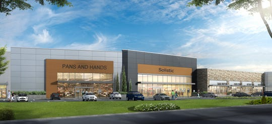 A rendering of the proposed Paramus Crossroads retail development, located on Route 17 South.
