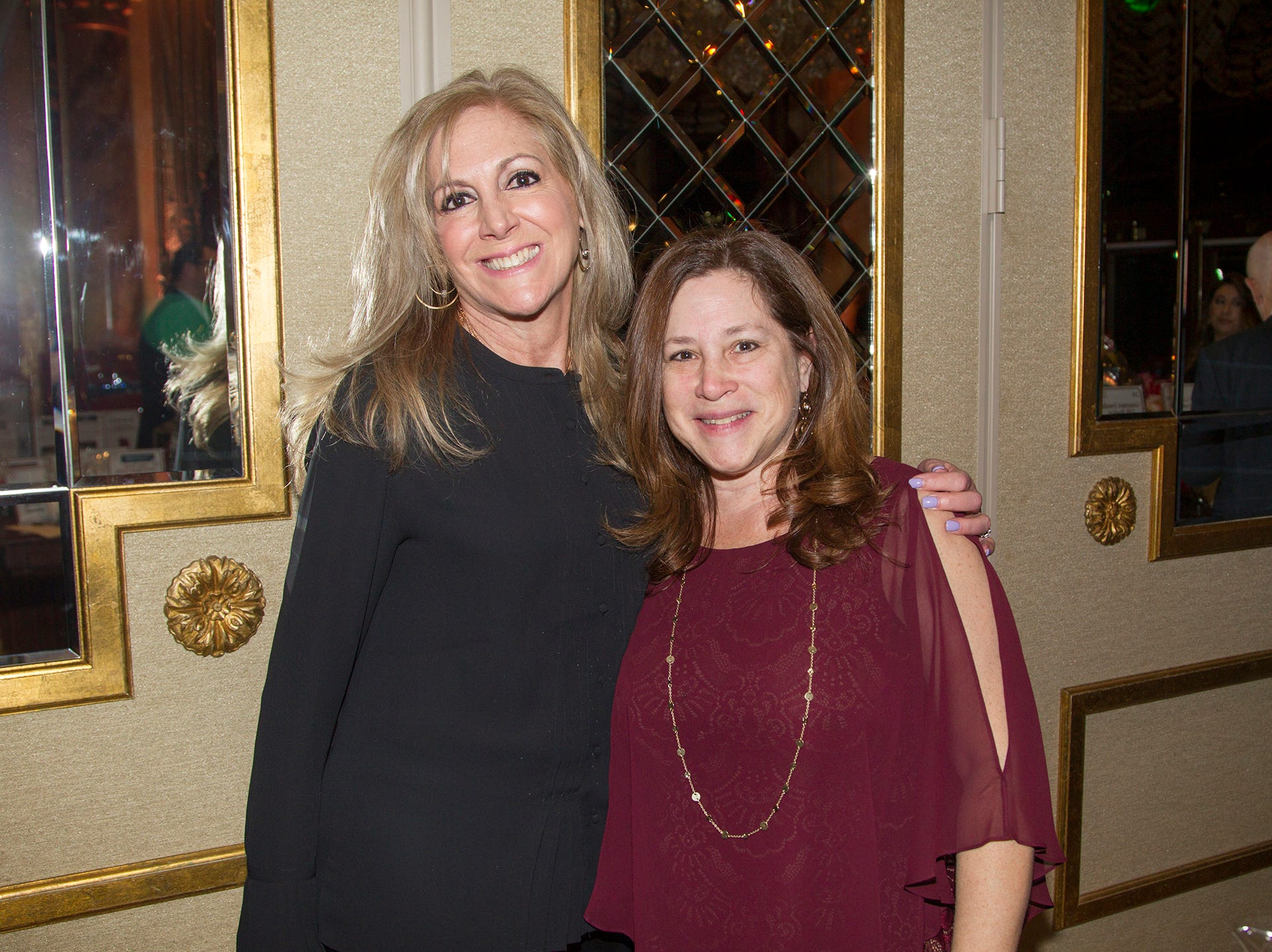 Connie Carroll, Amy Appell. Institute for Educational Achievement (IEA) held its annual Dinner Dance at Seasons in Washington Township. 02/02/2019