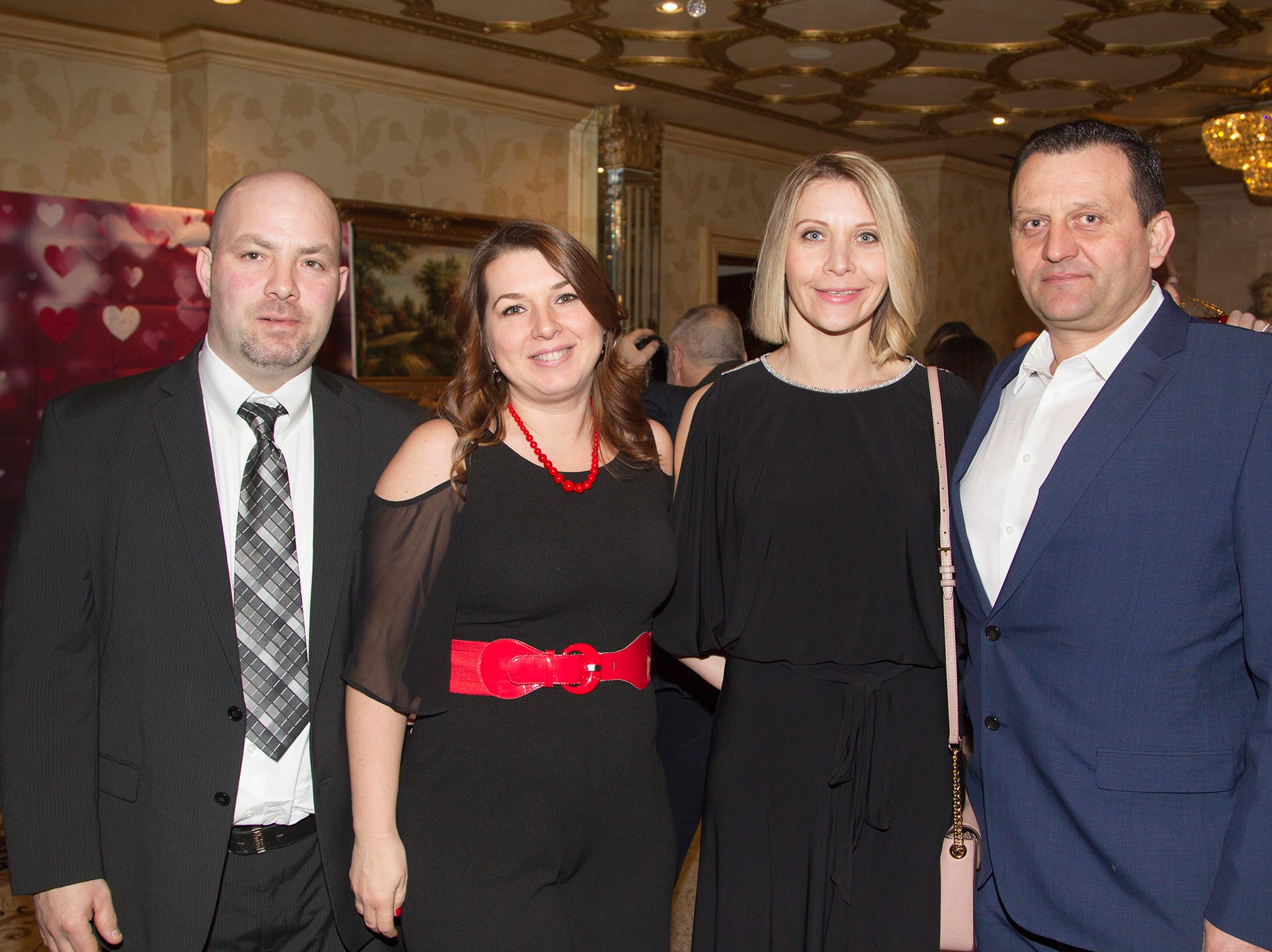 Thomas and Marcy Gloc, Gosha and Leszek Brzozowski.Institute for Educational Achievement (IEA) held its annual Dinner Dance at Seasons in Washington Township. 02/02/2019