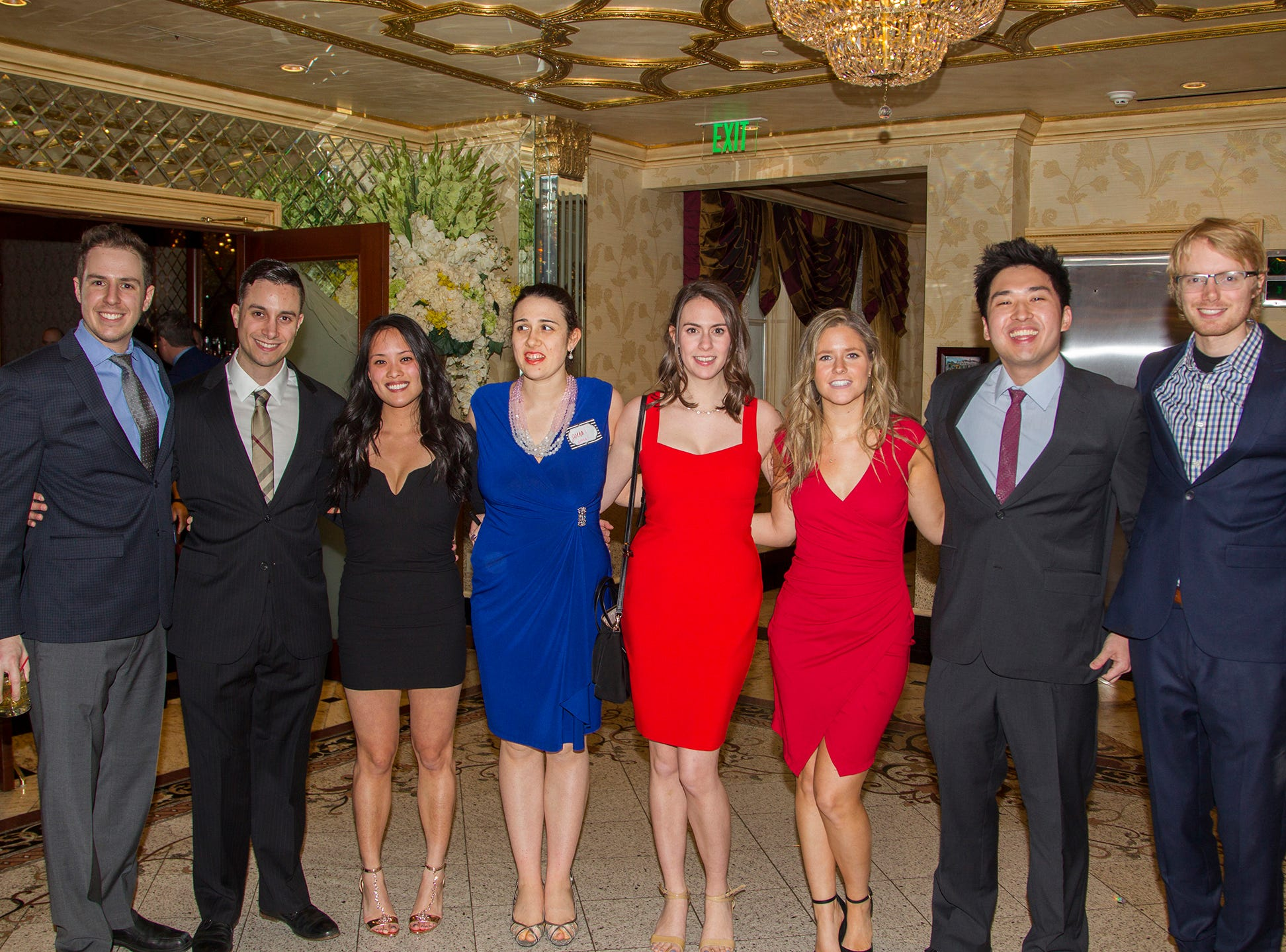 Austin, Rocky, Kathryn, Jenna, Lisa, Jun, Ashlee, Anthony. Institute for Educational Achievement (IEA) held its annual Dinner Dance at Seasons in Washington Township. 02/02/2019