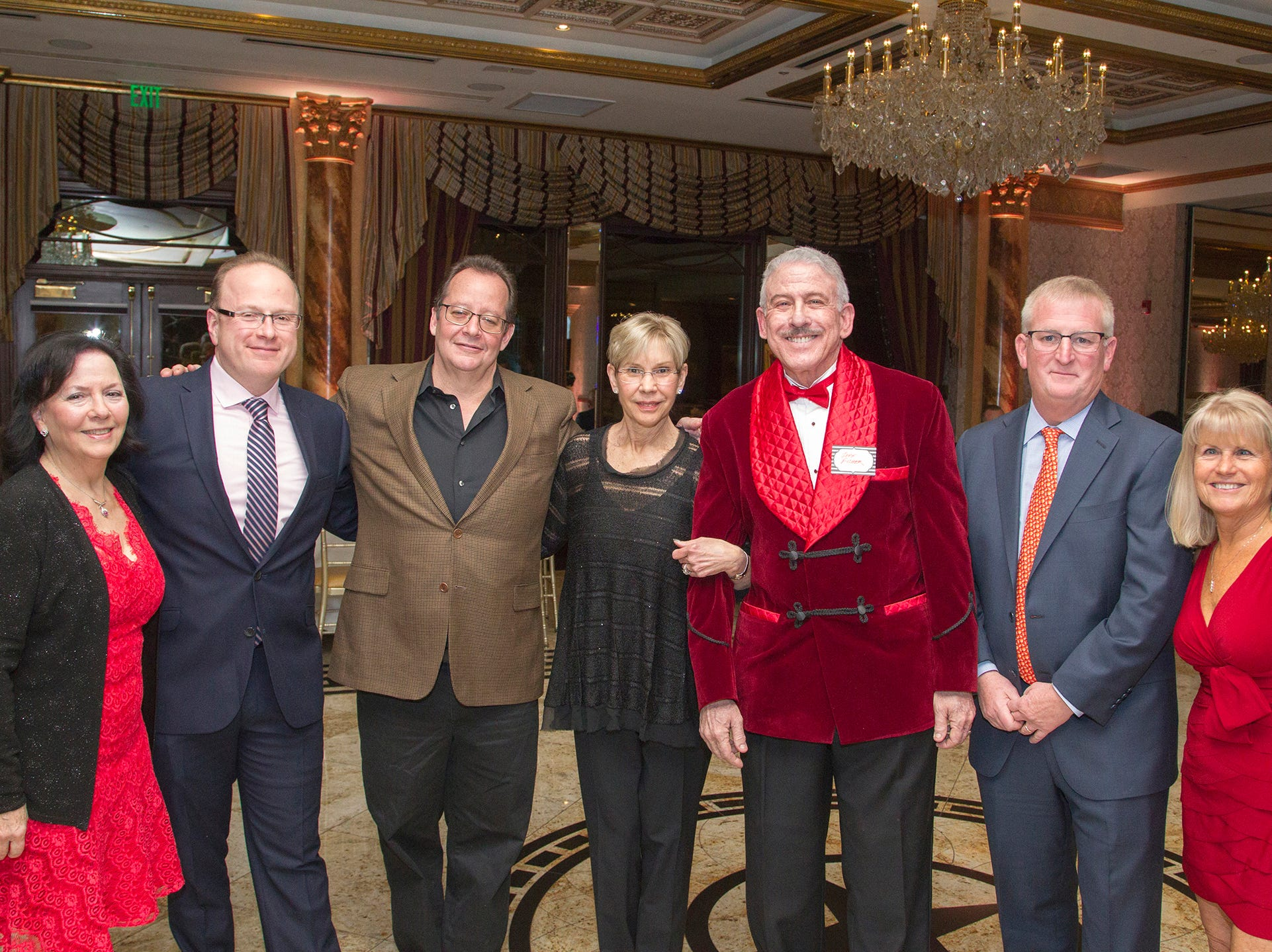 Board of Trustees, Janet Arena, Augie Zenzius, David Appell, Joane Dowling, Dr. Jeff Fisher, Doug Phelps, Diane Lento. Institute for Educational Achievement (IEA) Dinner Dance at Season in Washington Twp. 2/2/2019