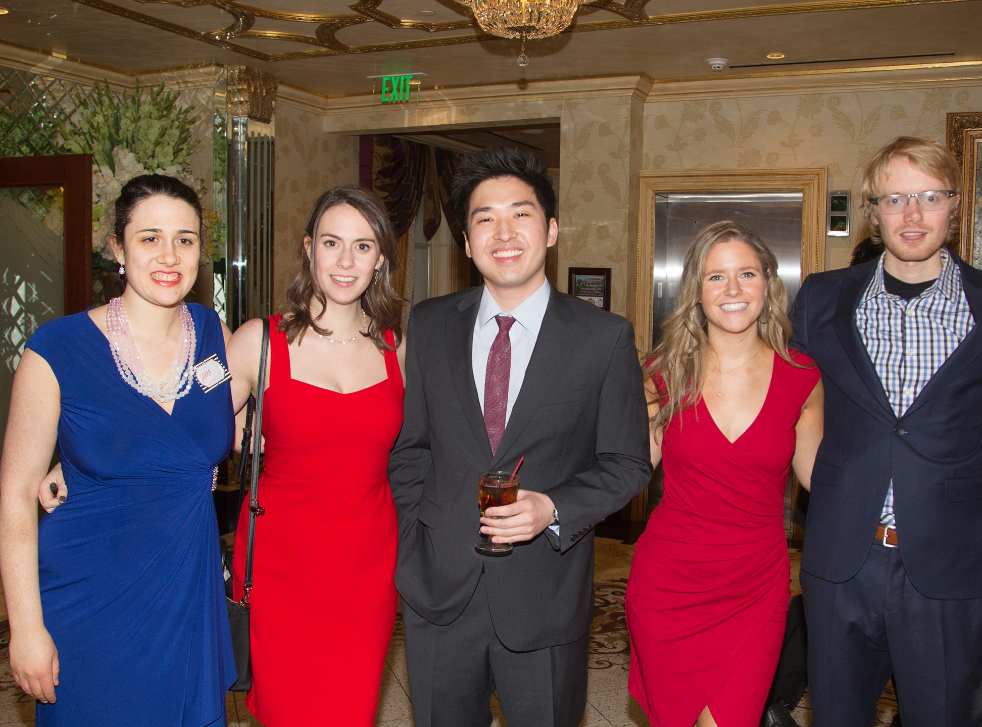 Jenna, Lisa, Jun, Ashlee, Anthony. Institute for Educational Achievement (IEA) held its annual Dinner Dance at Seasons in Washington Township. 02/02/2019