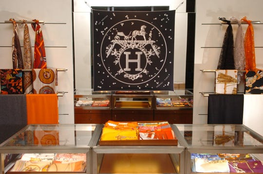 File photo, Hermes store at The Shops at Riverside in Hackensack.
