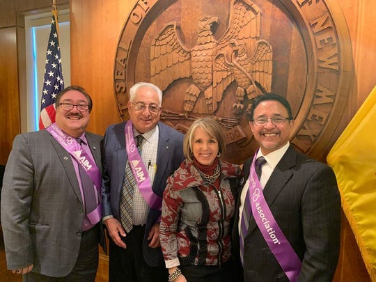 The Alzheimer's Association of Las Cruces recently went to speak with Gov. Michelle Lujan Grisham about Senate Bill 42.