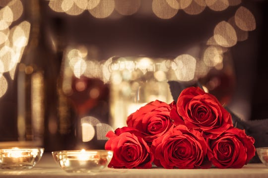 Share a romantic dinner with your loved one this Valentine's Day.