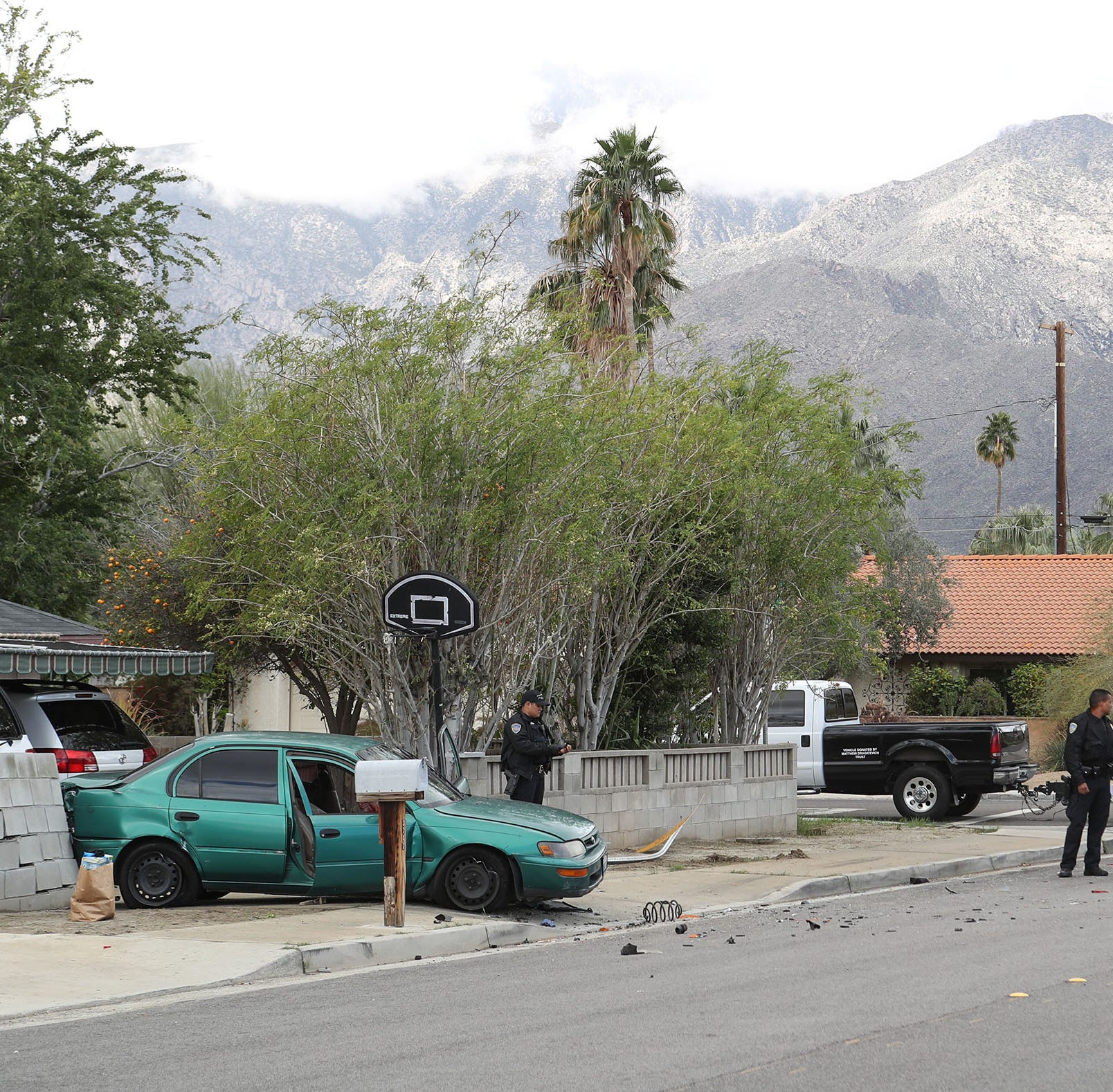 Three teens were shot before Palm Springs police found their bodies in a car Sunday, police said