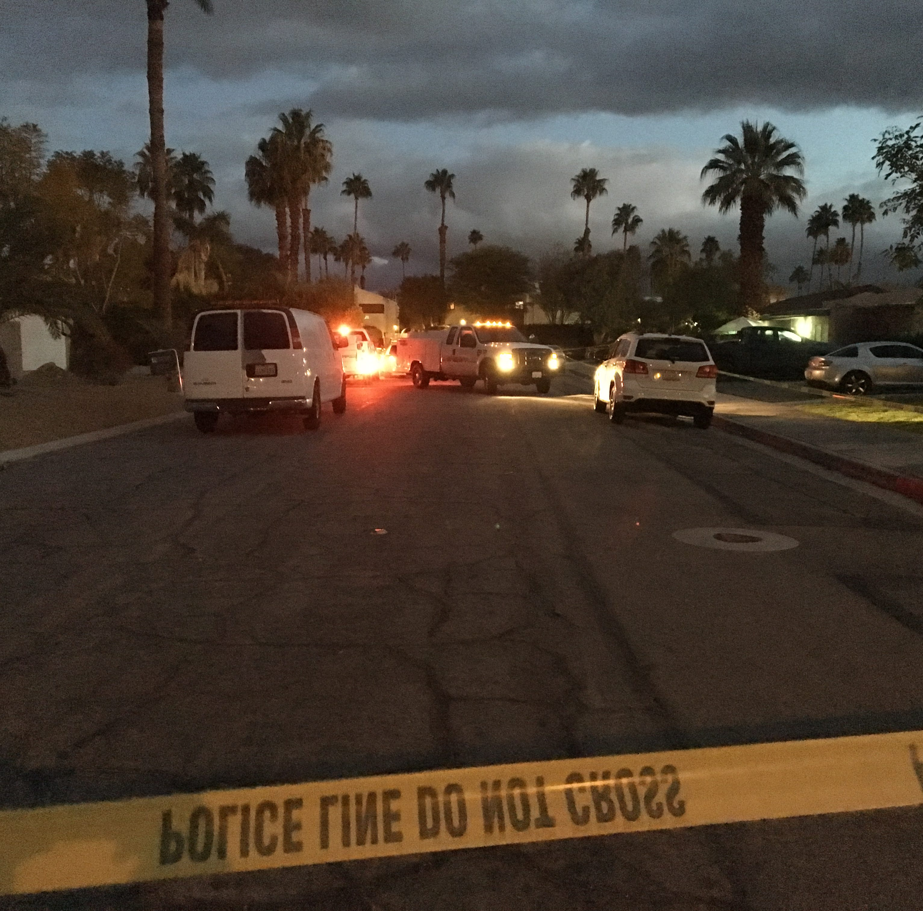 Clues in Palm Springs quadruple killing: An aborted robbery plot, an uncollected debt, and a barbecue