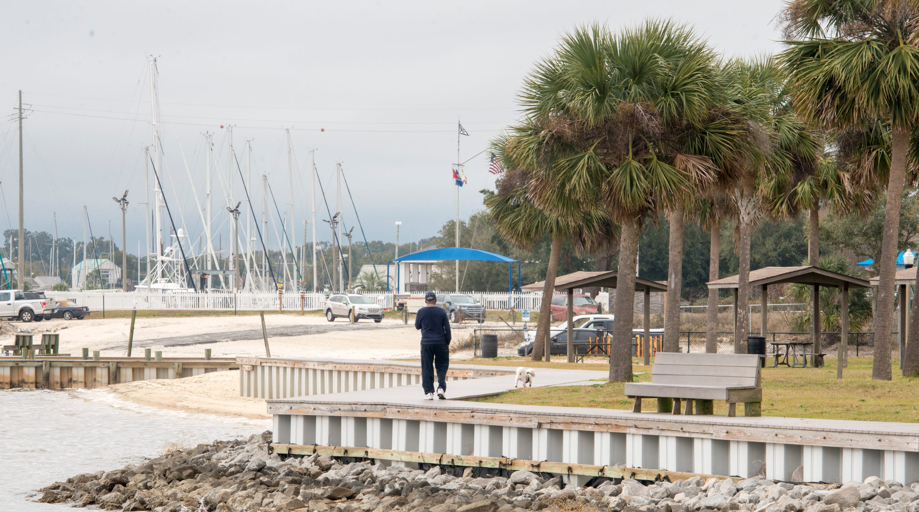 Pensacola Mayor Grover Robinson is seeking to expand the boundaries of landscape architecture studio SCAPE's   study of the downtown waterfront