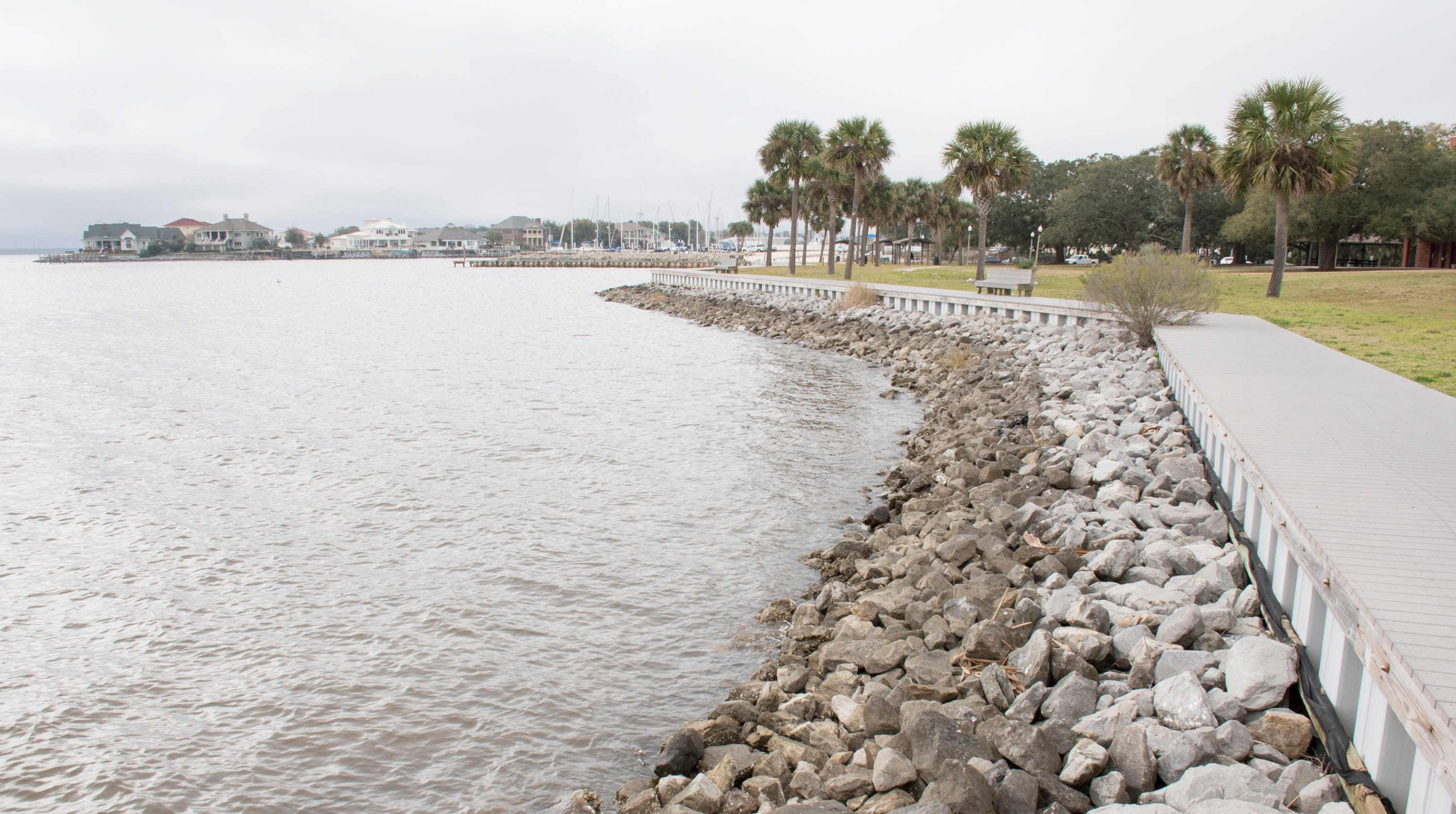 """SCAPE representative are developing a """"waterfront framework plan"""" that stretches from the Pensacola Bay Bridge to the Pensacola Yacht Club"""