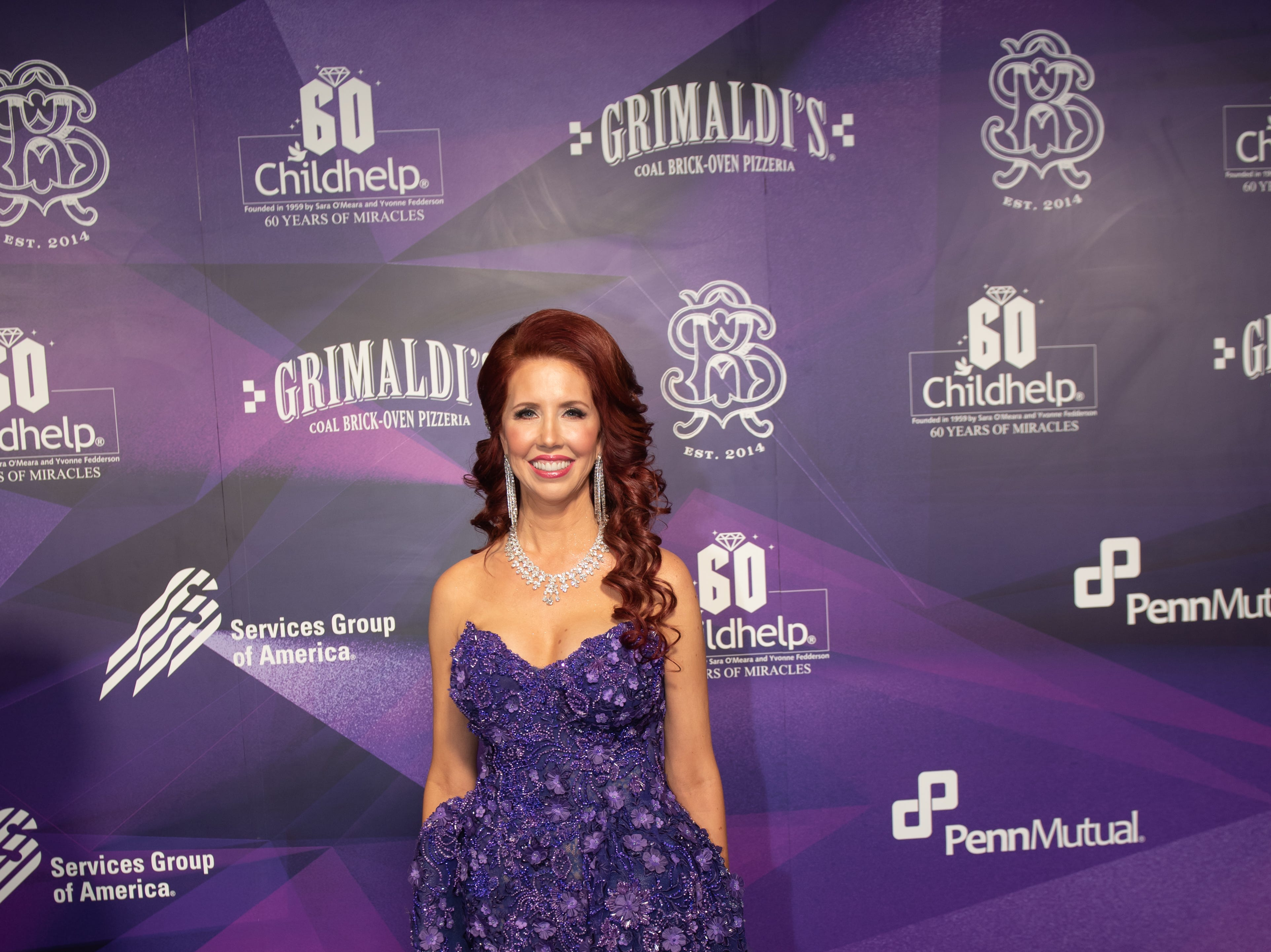 Stacie J. Stephenson attended the Childhelp Drive the Dream Gala on February 2, 2019.