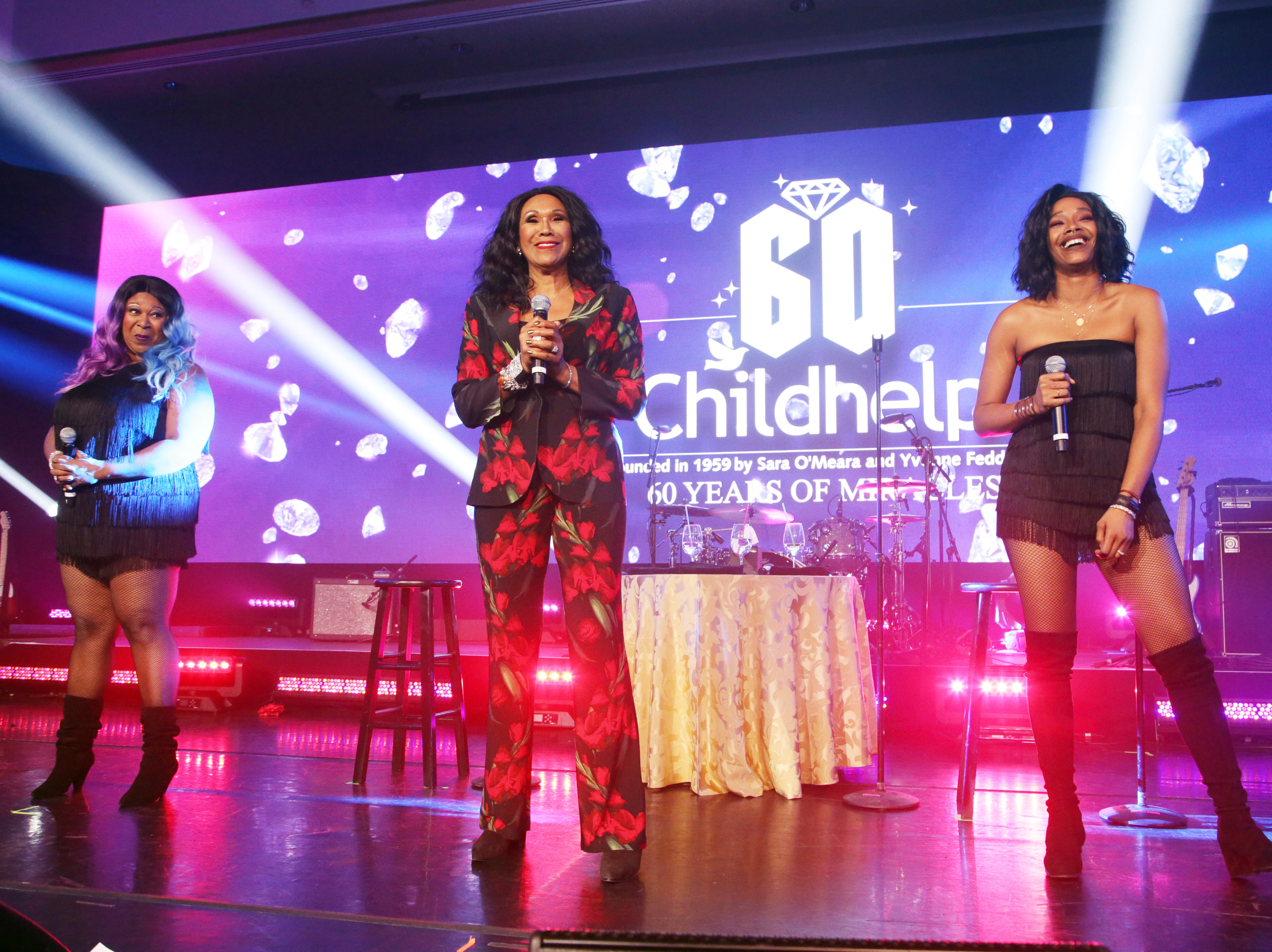 The Pointer Sistersattended the Childhelp Drive the Dream Gala on February 2, 2019.