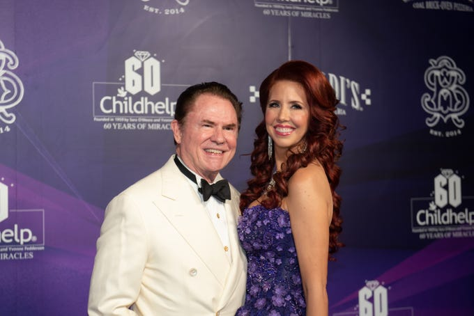 Gala co-chairs Richard J. Stephenson and Dr. Stacie J. Stephenson attended the Childhelp Drive the Dream Gala on February 2, 2019.