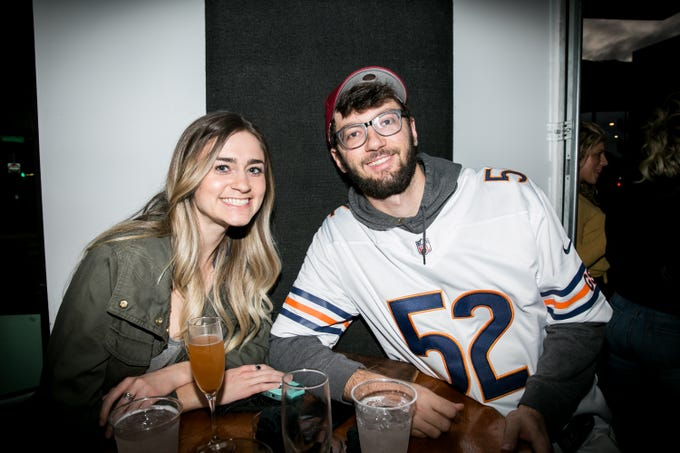 There's lots of love for the Rams during Paz Cantina's Super Bowl Watch Party on Feb. 3, 2019.