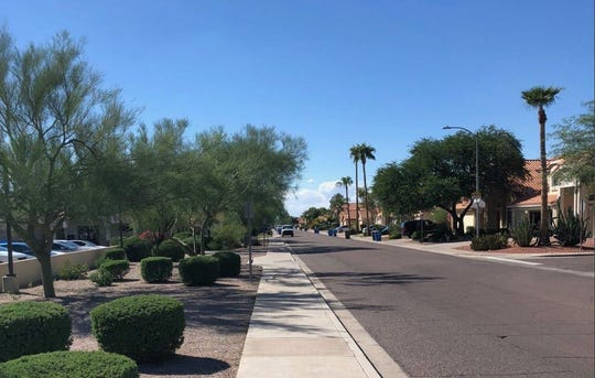 Some neighbors worry the proposed senior-living facility on Tatum Boulevard in north Phoenix will affect home values.