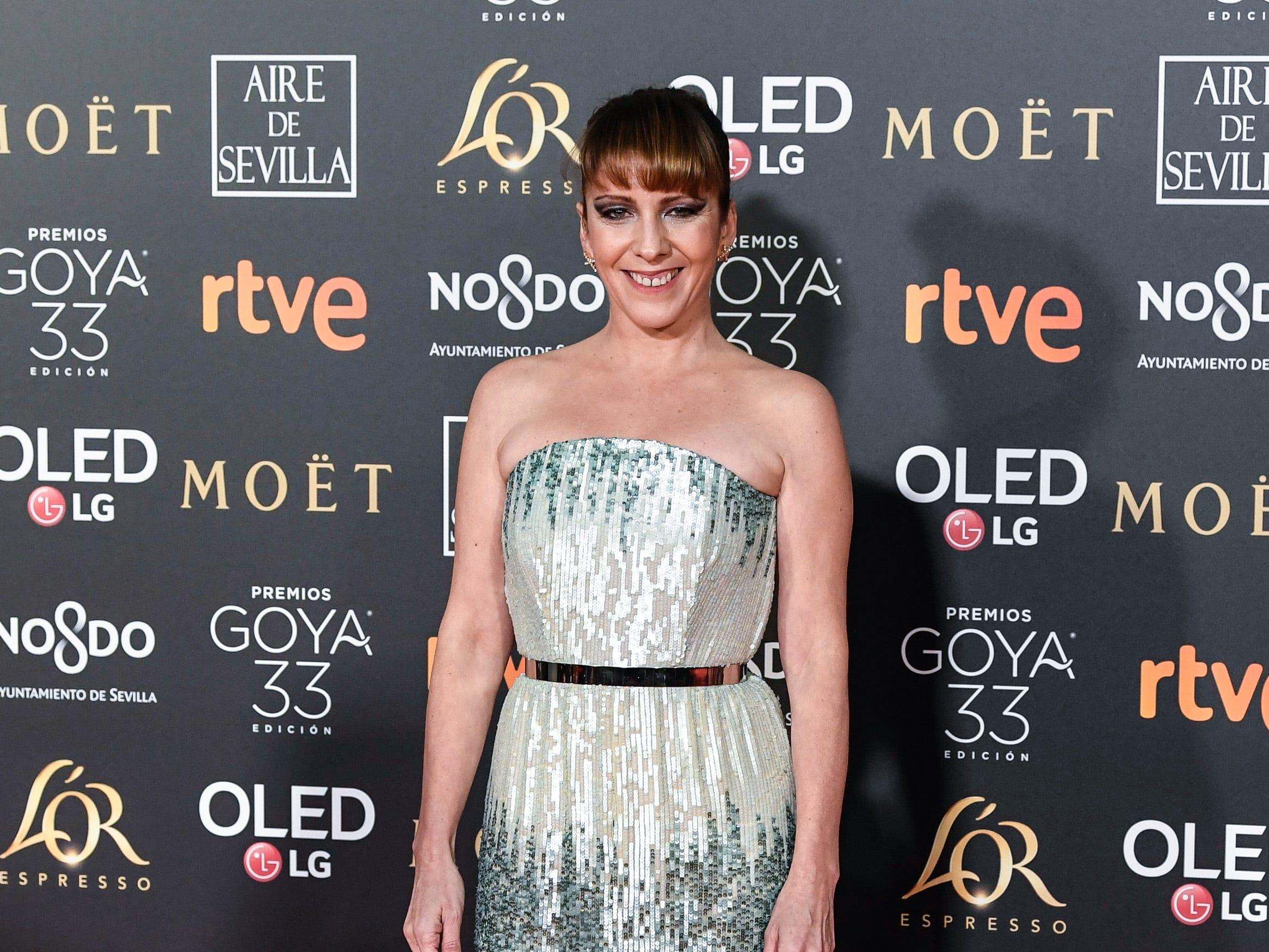 Eva Llorach asiste a la 33ª edición de los Premios de Cine Goya en el Palacio de Congresos y Exposiciones FIBES el 2 de febrero de 2019 en Sevilla, España.