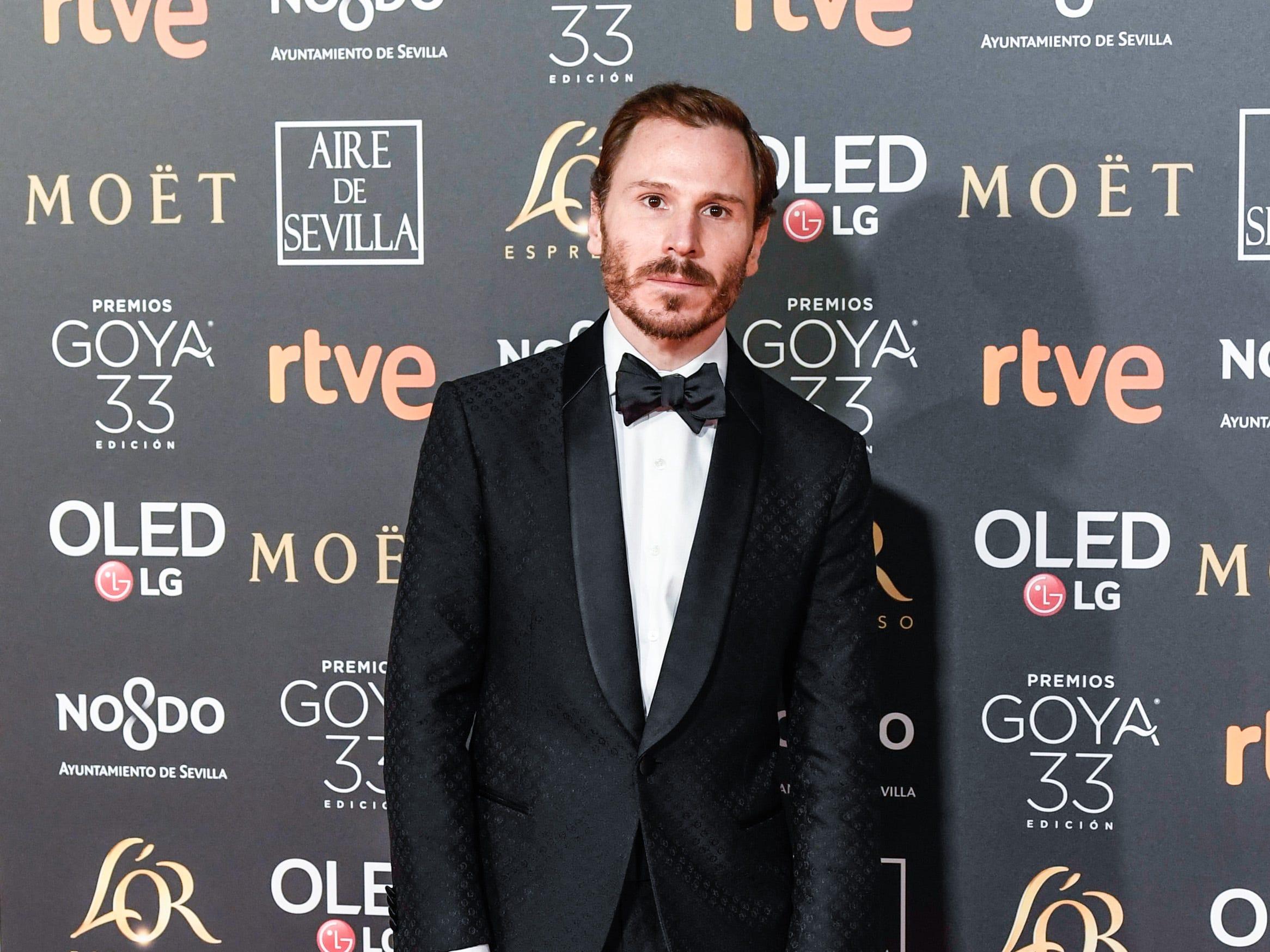 Rubén Ochandiano asiste a la 33ª edición de los Premios de Cine Goya en el Palacio de Congresos y Exposiciones FIBES el 2 de febrero de 2019 en Sevilla, España.