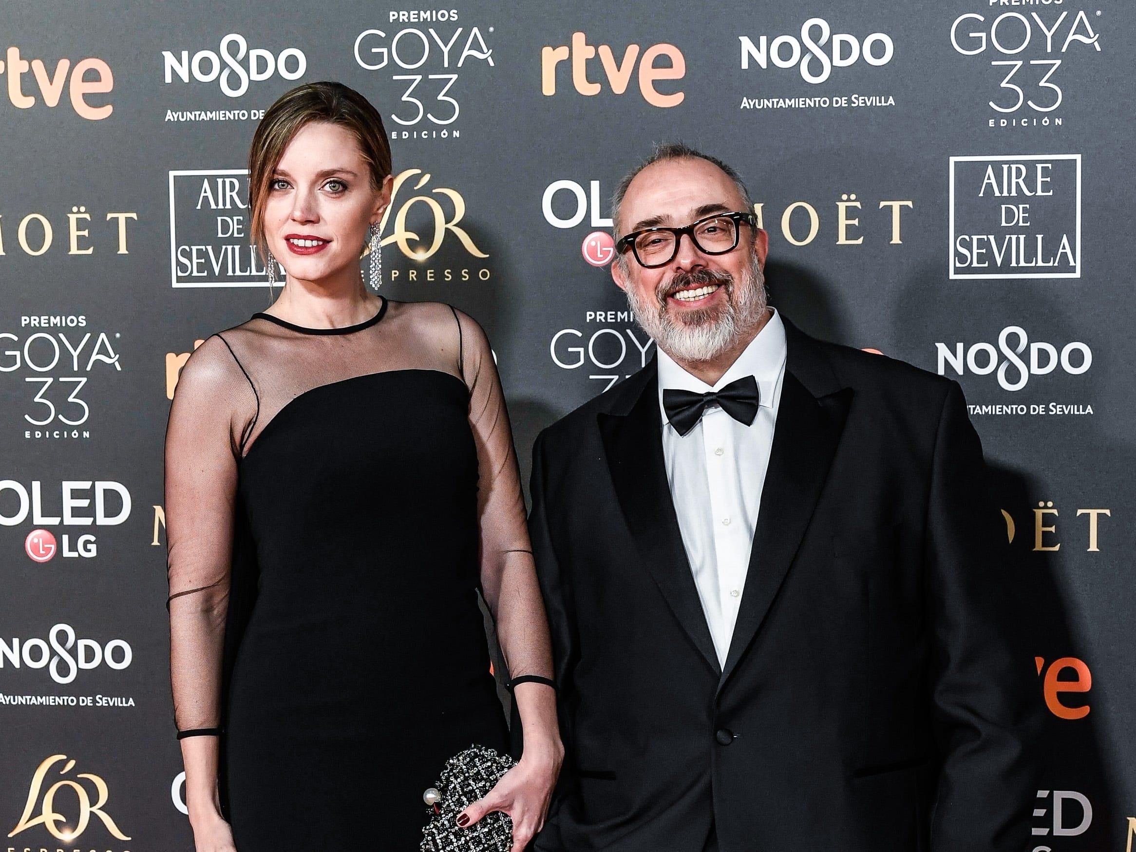 Alex de la Iglesia asiste a la 33ª edición de los Premios de Cine Goya en el Palacio de Congresos y Exposiciones FIBES el 2 de febrero de 2019 en Sevilla, España.
