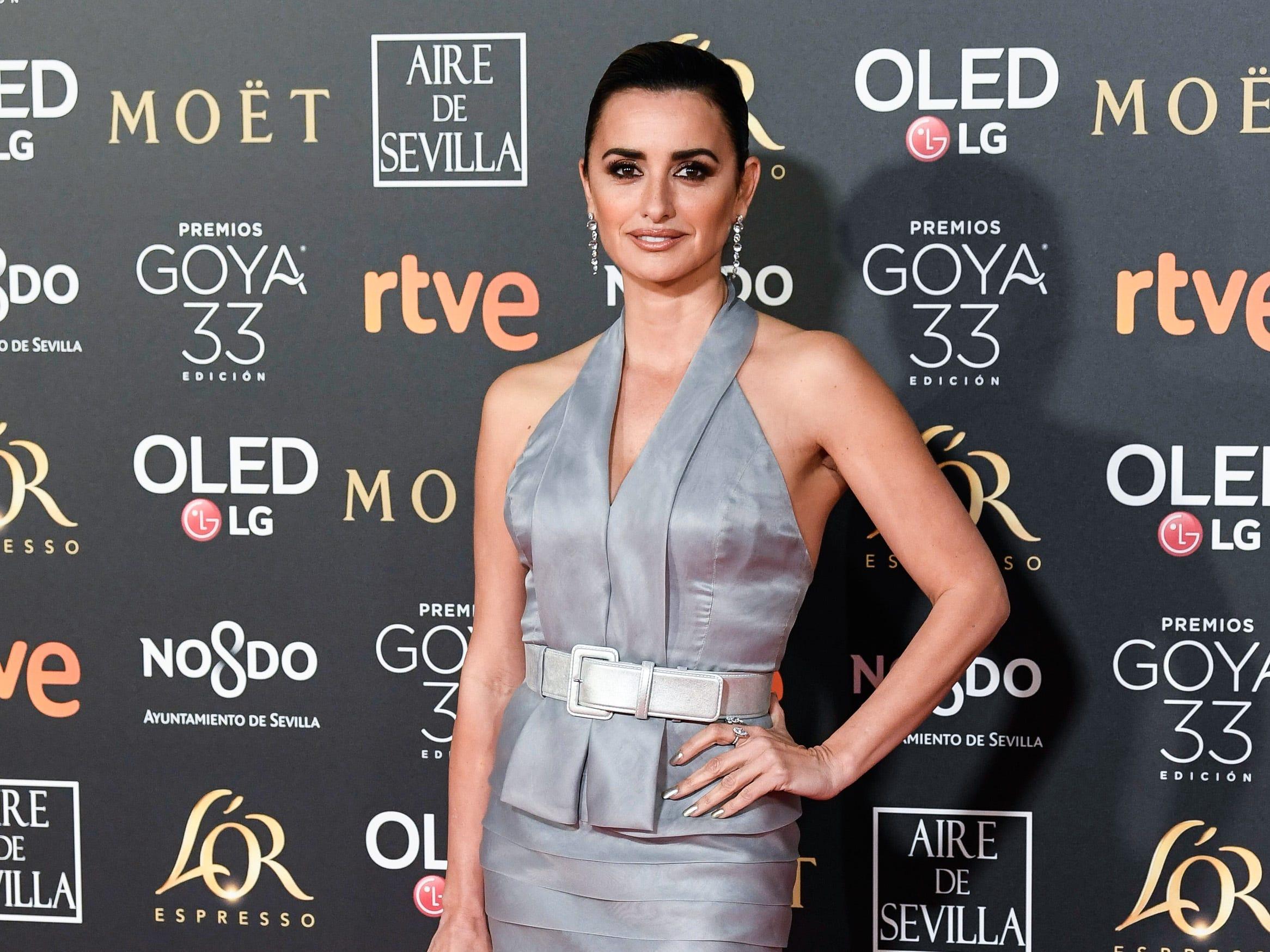 Penélope Cruz asiste a la 33ª edición de los Premios de Cine Goya en el Palacio de Congresos y Exposiciones FIBES el 2 de febrero de 2019 en Sevilla, España.