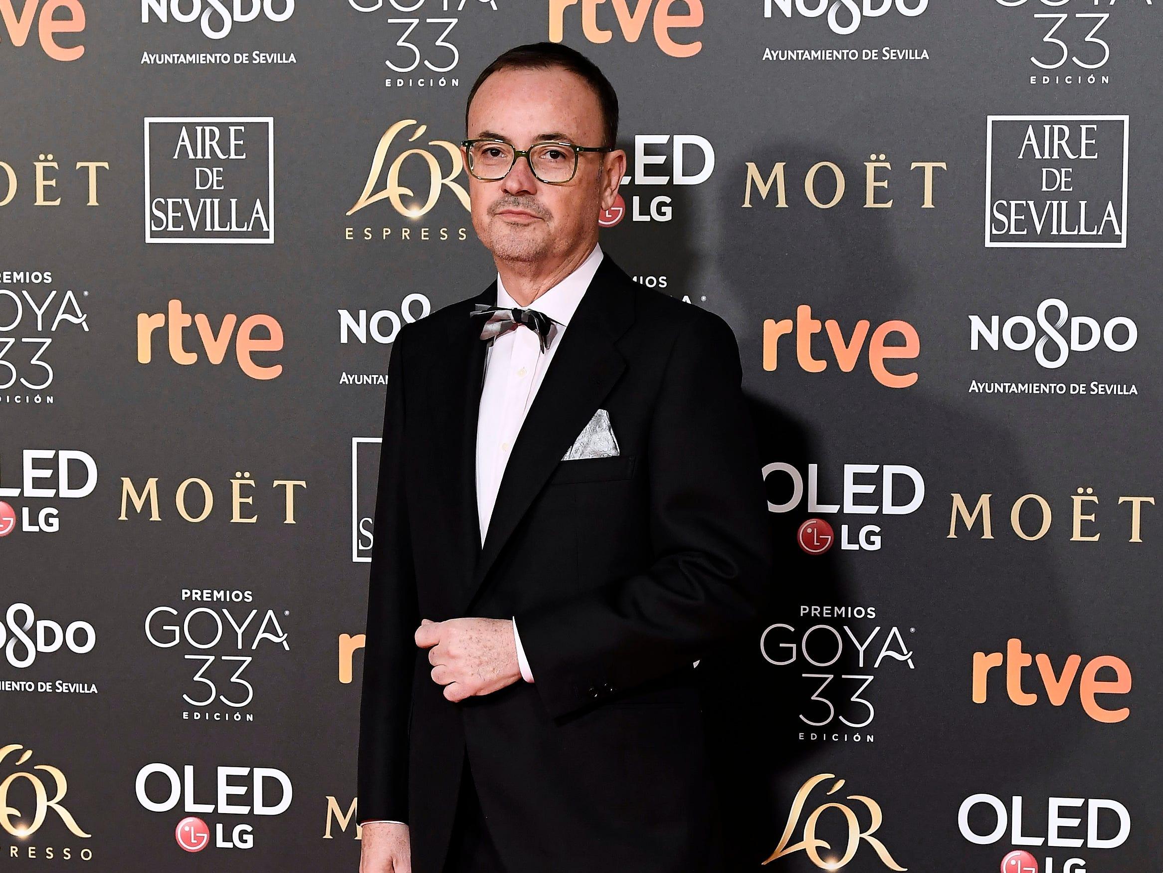 Director 3 asiste a la 33ª edición de los Premios de Cine Goya en el Palacio de Congresos y Exposiciones FIBES el 2 de febrero de 2019 en Sevilla, España.