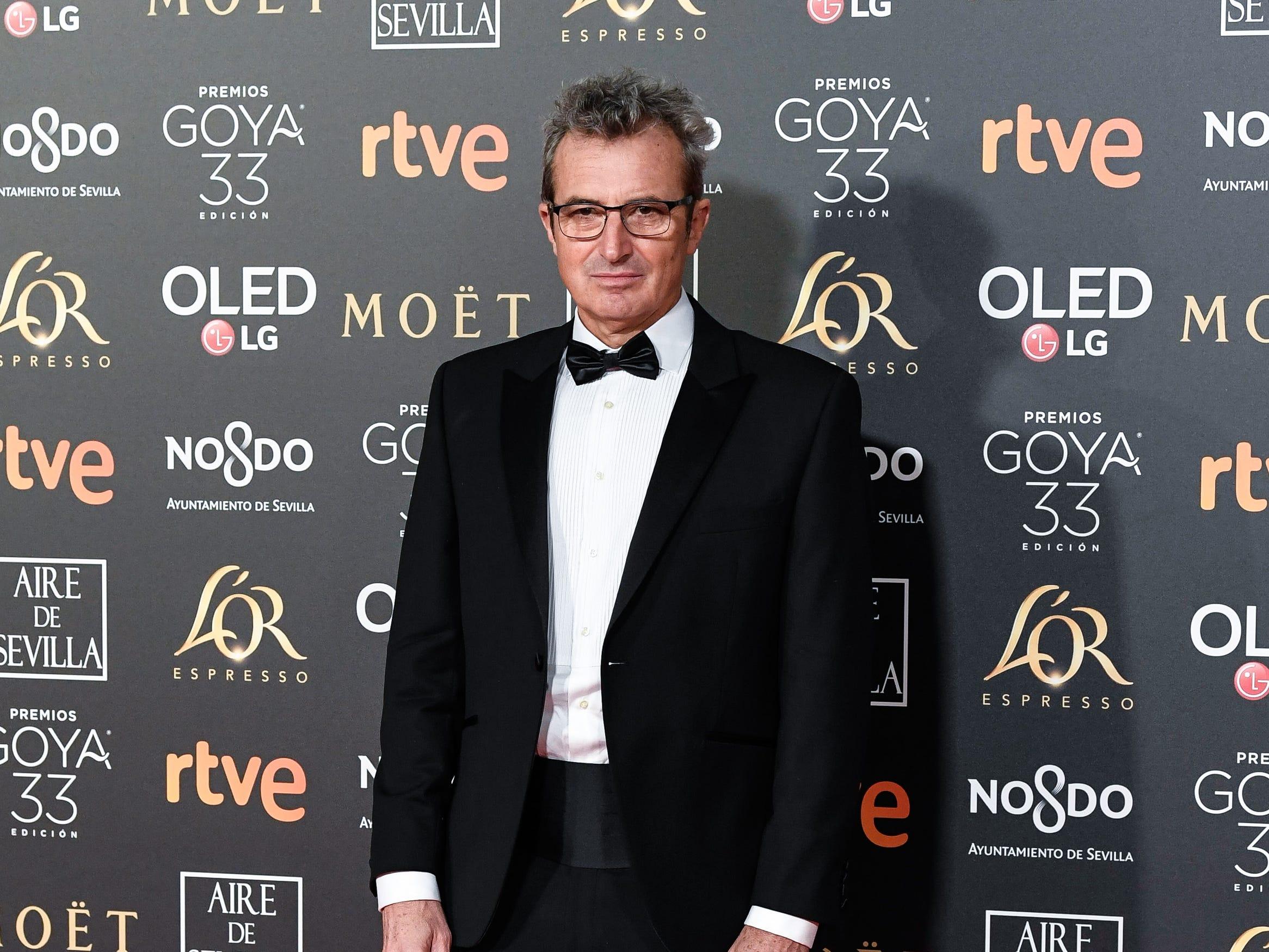Mariano Barroso asiste a la 33ª edición de los Premios de Cine Goya en el Palacio de Congresos y Exposiciones FIBES el 2 de febrero de 2019 en Sevilla, España.