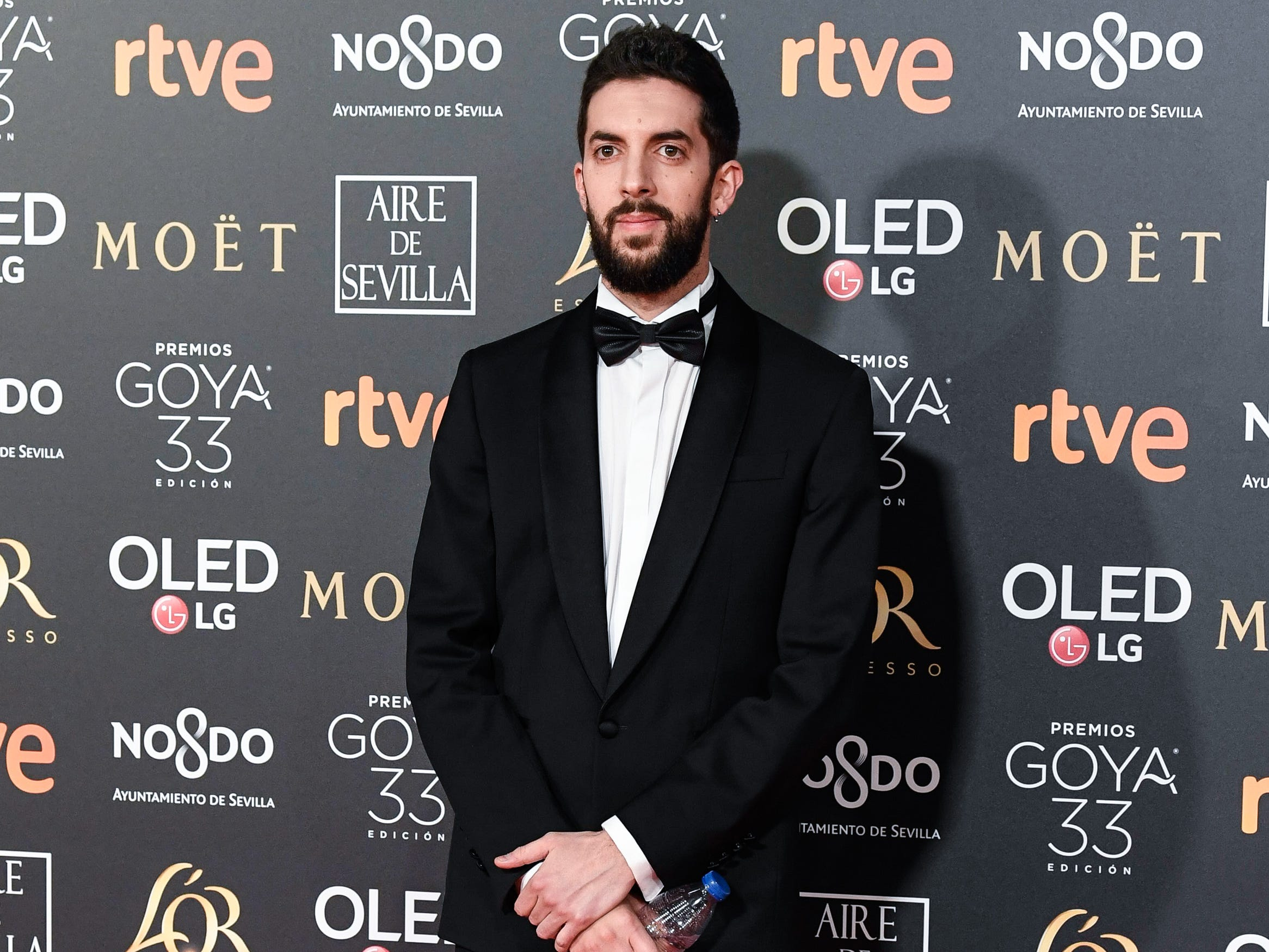 David Broncano asiste a la 33ª edición de los Premios de Cine Goya en el Palacio de Congresos y Exposiciones FIBES el 2 de febrero de 2019 en Sevilla, España.