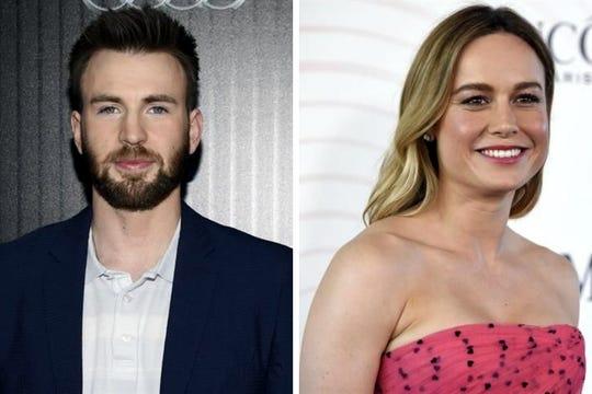 La entrega de los Premios de la Academia se realizará el próximo 24 de febrero y Chris Evans (izq.), Brie Larson (der.) y Awkwafina serán los actores que entregarán los premios.