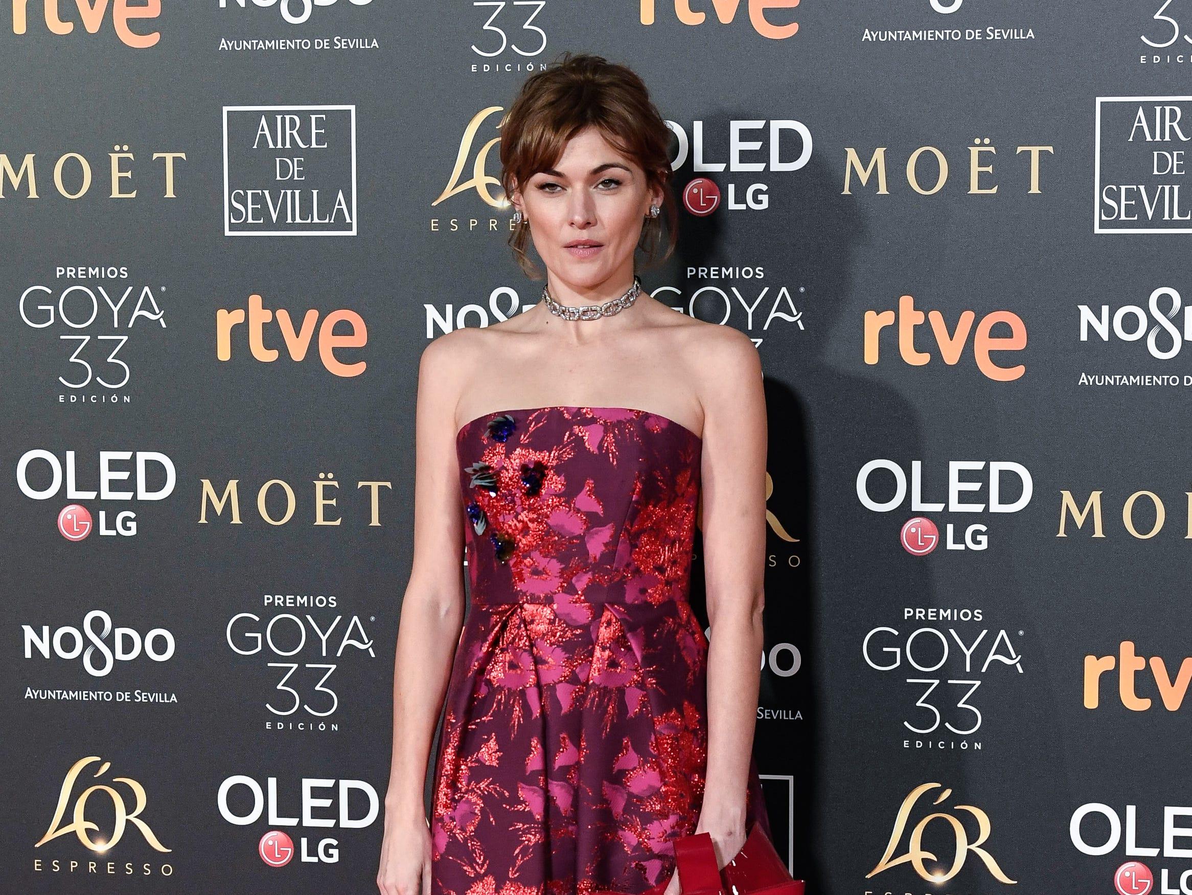 Marta Nieto asiste a la 33ª edición de los Premios de Cine Goya en el Palacio de Congresos y Exposiciones FIBES el 2 de febrero de 2019 en Sevilla, España.