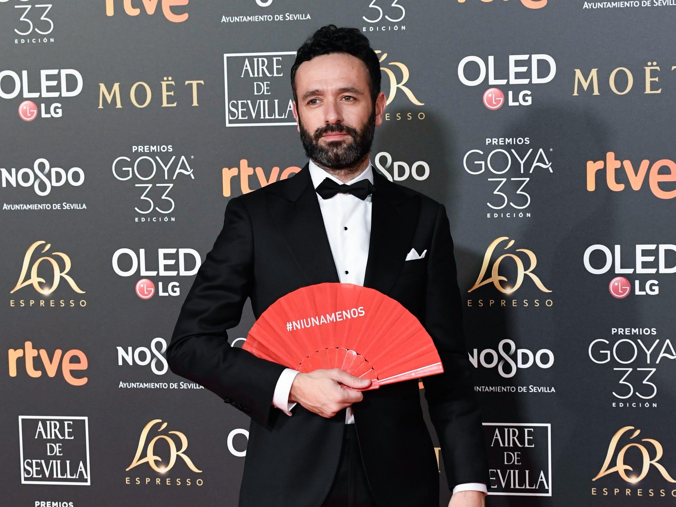 Rodrigo Sorogoyen asiste a la 33ª edición de los Premios de Cine Goya en el Palacio de Congresos y Exposiciones FIBES el 2 de febrero de 2019 en Sevilla, España.