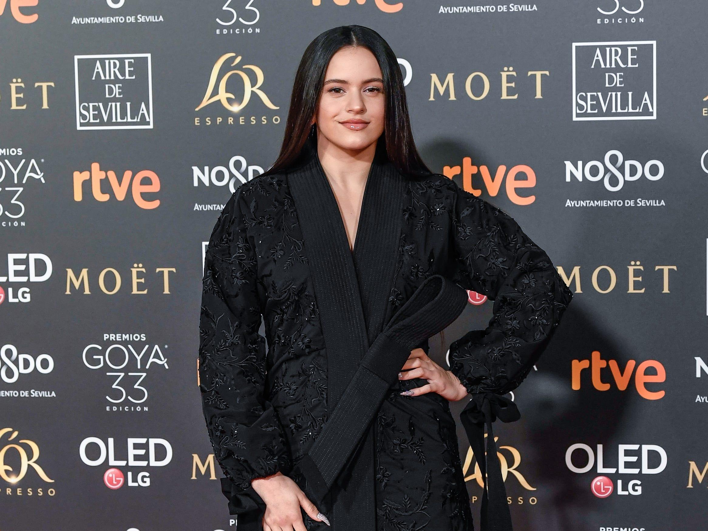 Rosalía Vila asiste a la 33ª edición de los Premios de Cine Goya en el Palacio de Congresos y Exposiciones FIBES el 2 de febrero de 2019 en Sevilla, España.