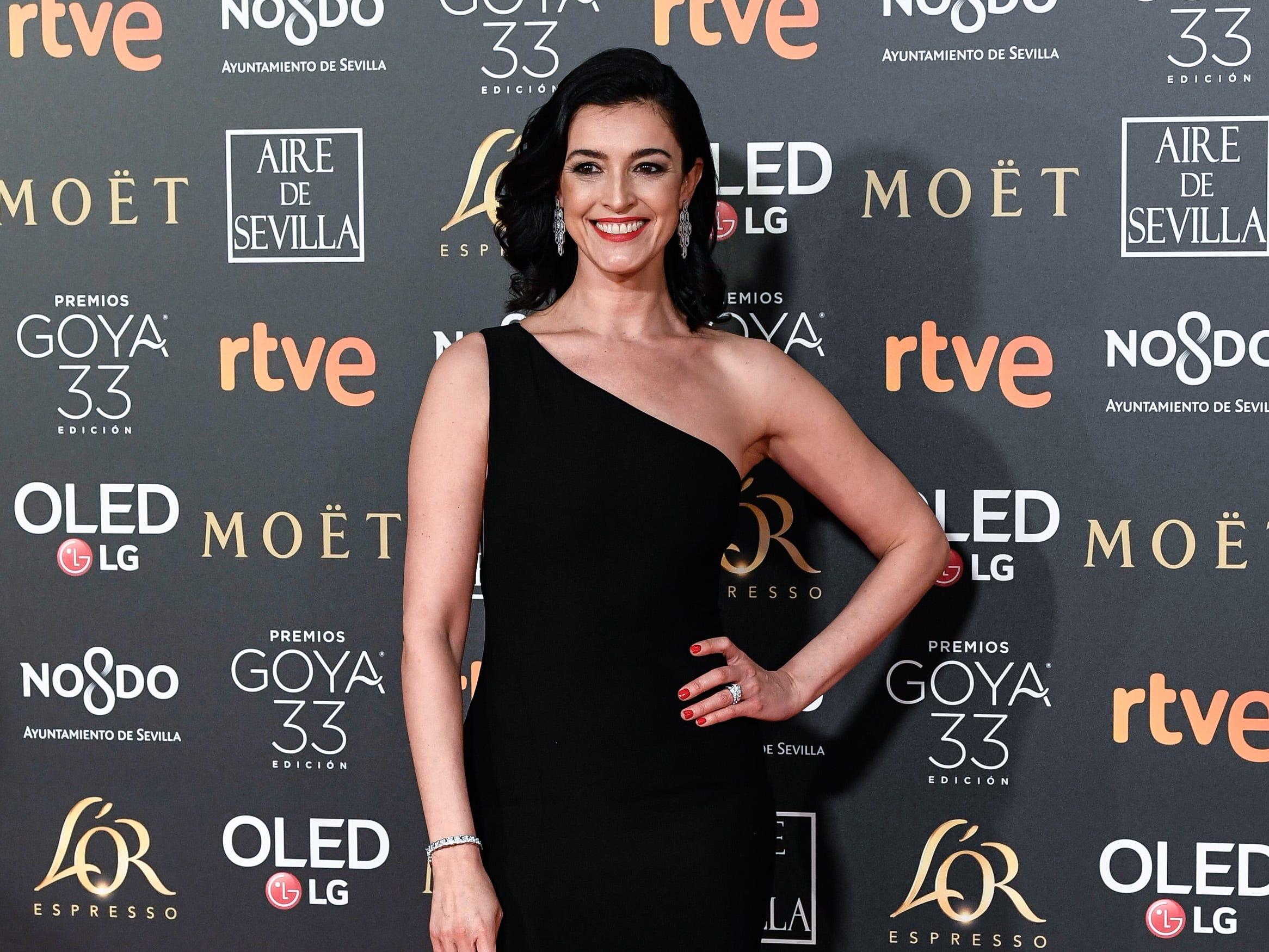 Blanca Romero asiste a la 33ª edición de los Premios de Cine Goya en el Palacio de Congresos y Exposiciones FIBES el 2 de febrero de 2019 en Sevilla, España.