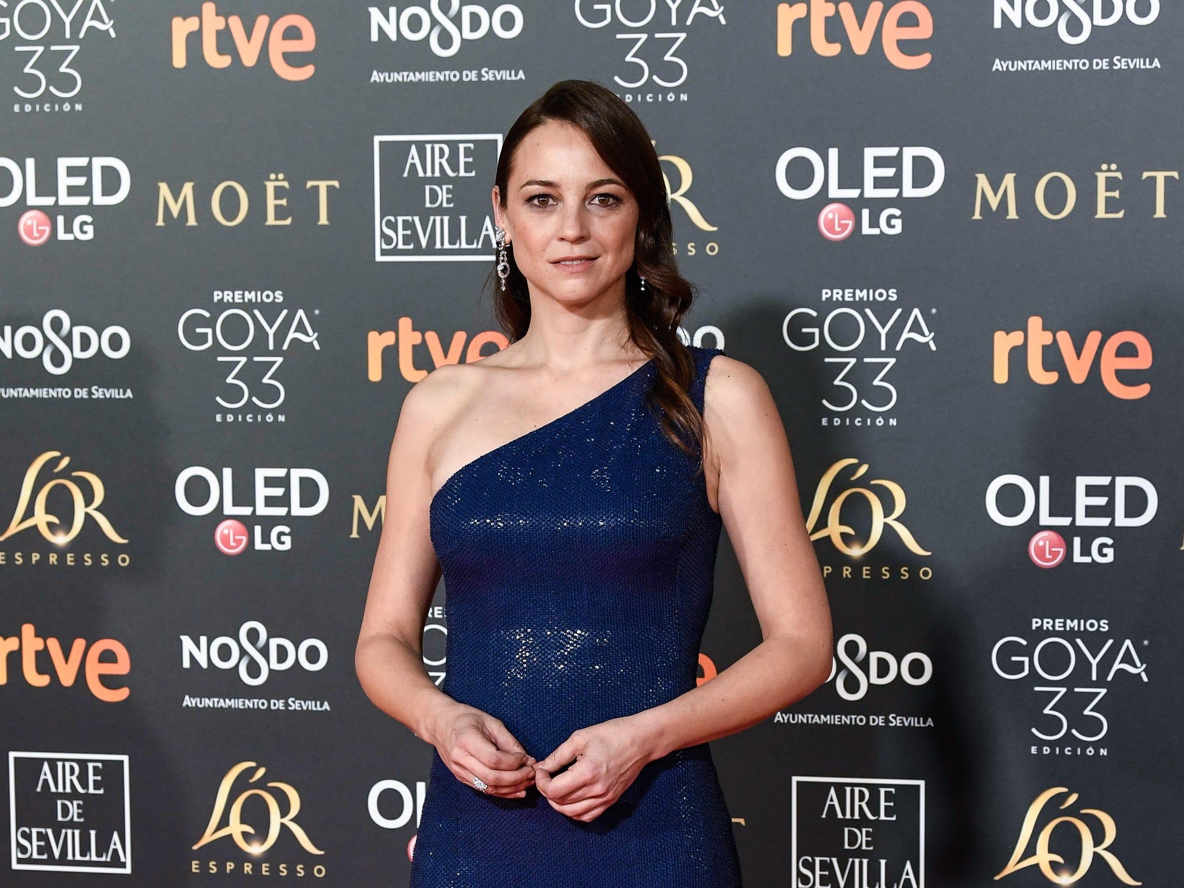 Leonor Watling asiste a la 33ª edición de los Premios de Cine Goya en el Palacio de Congresos y Exposiciones FIBES el 2 de febrero de 2019 en Sevilla, España.