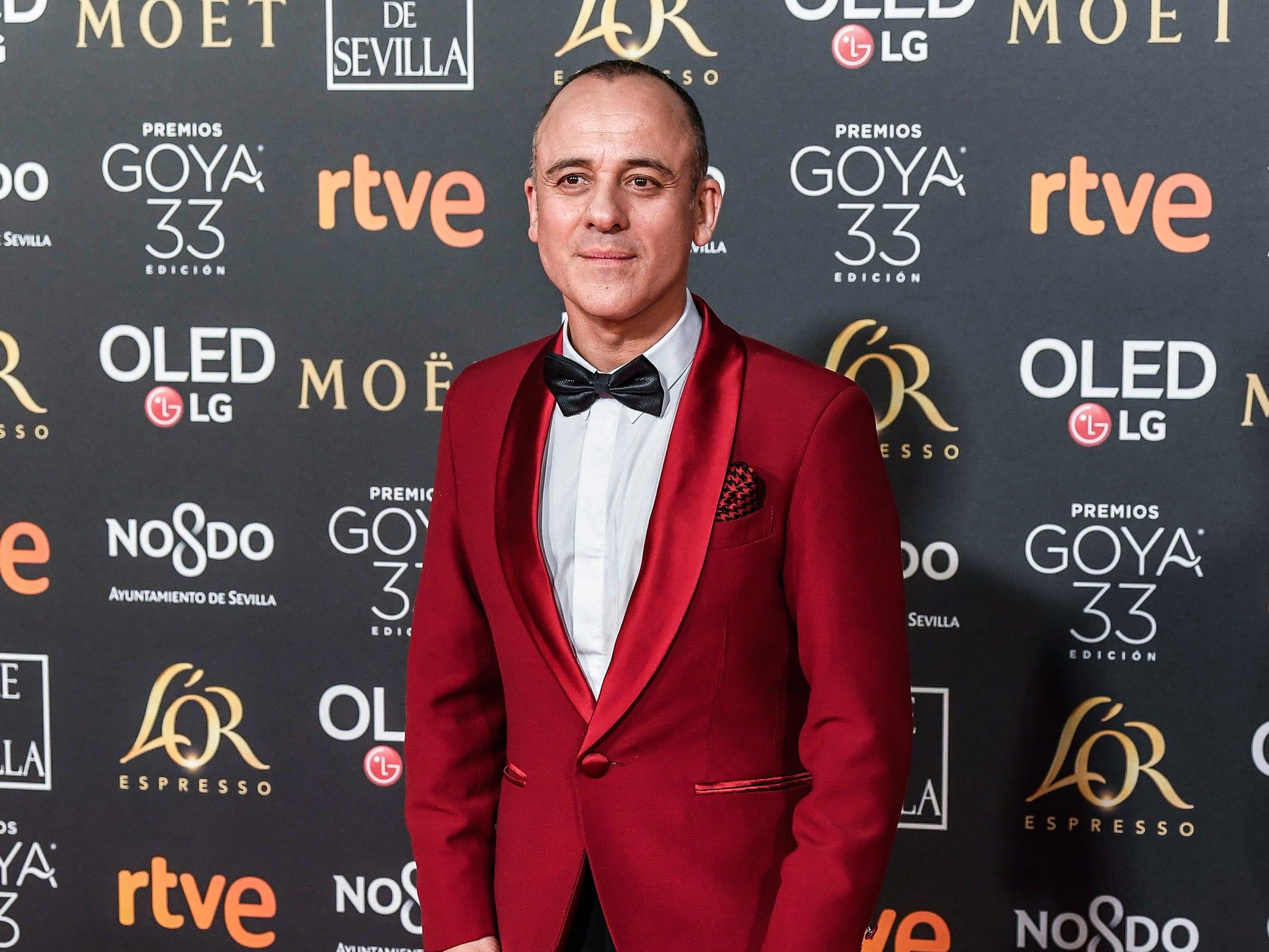 Javier Gutiérrez asiste a la 33ª edición de los Premios de Cine Goya en el Palacio de Congresos y Exposiciones FIBES el 2 de febrero de 2019 en Sevilla, España.