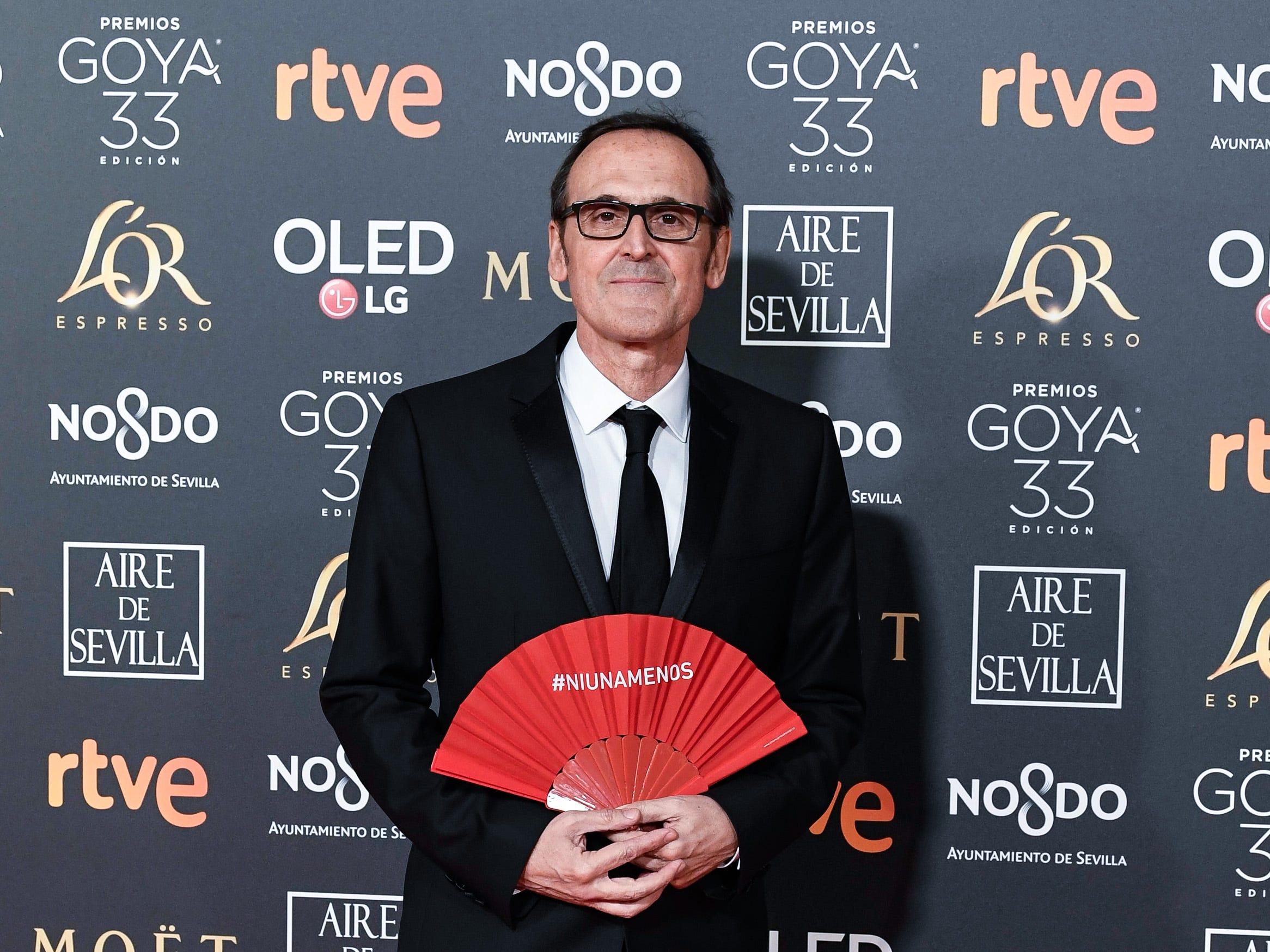 Alberto Iglesias asiste a la 33ª edición de los Premios de Cine Goya en el Palacio de Congresos y Exposiciones FIBES el 2 de febrero de 2019 en Sevilla, España.