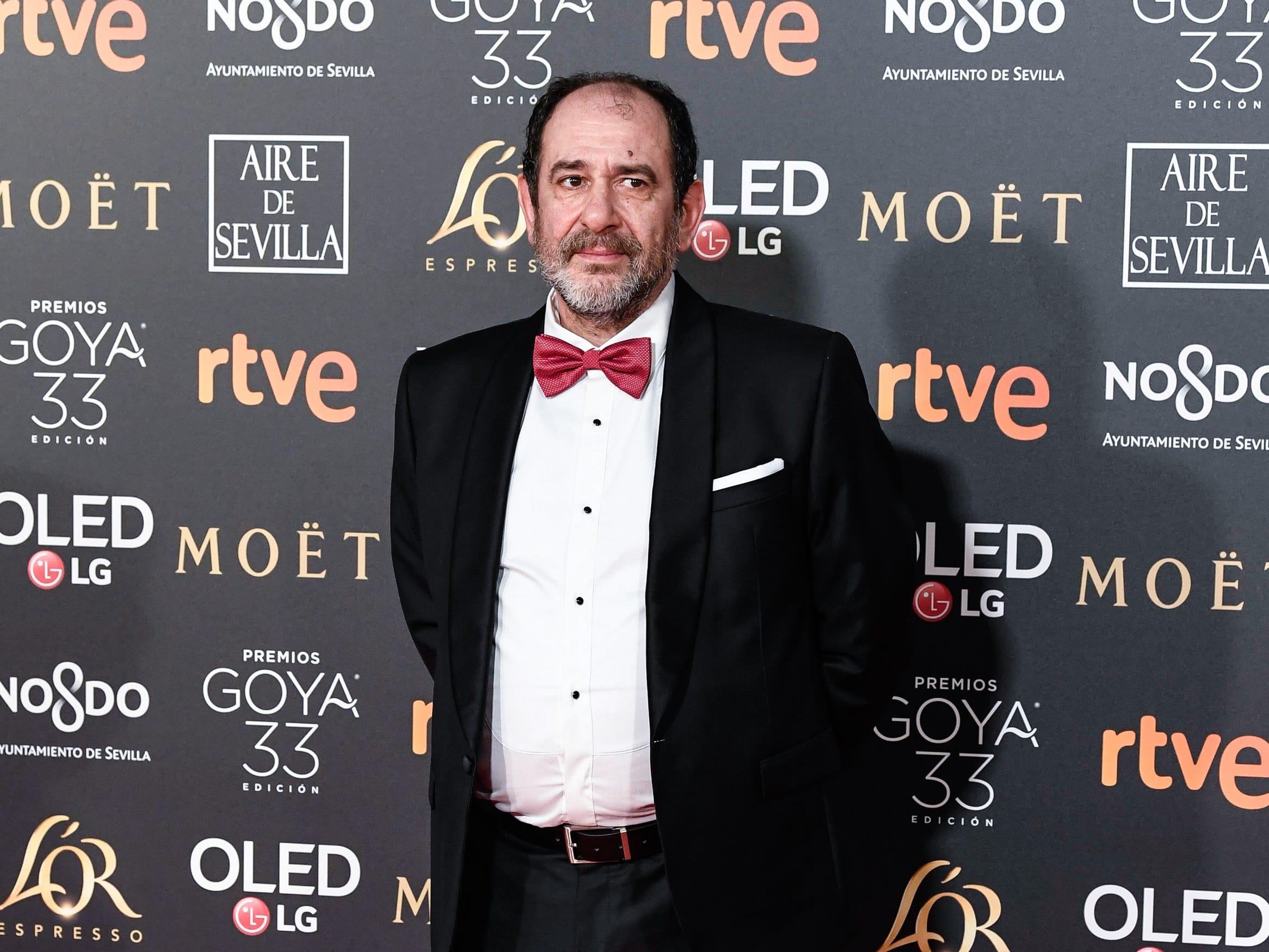 Karra Errejalde asiste a la 33ª edición de los Premios de Cine Goya en el Palacio de Congresos y Exposiciones FIBES el 2 de febrero de 2019 en Sevilla, España.